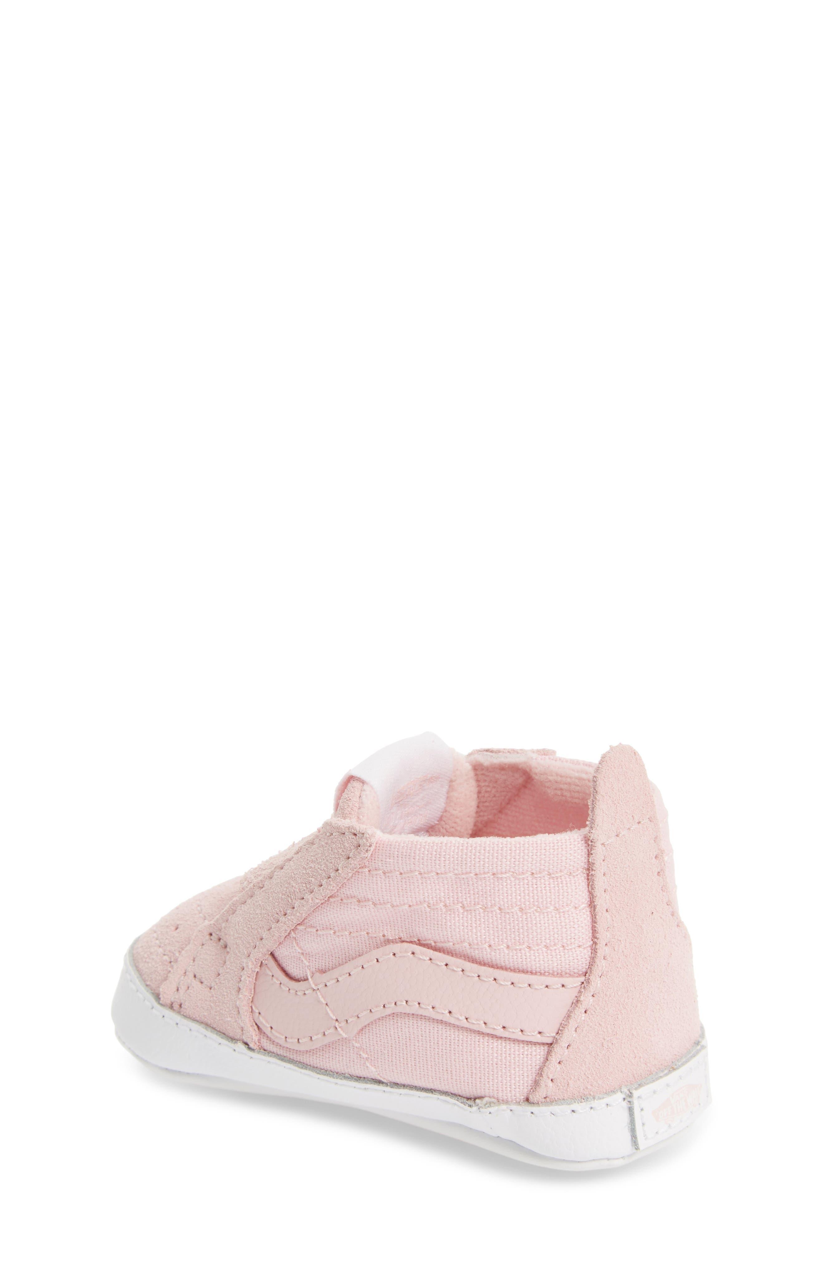 Alternate Image 2  - Vans SK8-Hi Crib Sneaker (Baby)