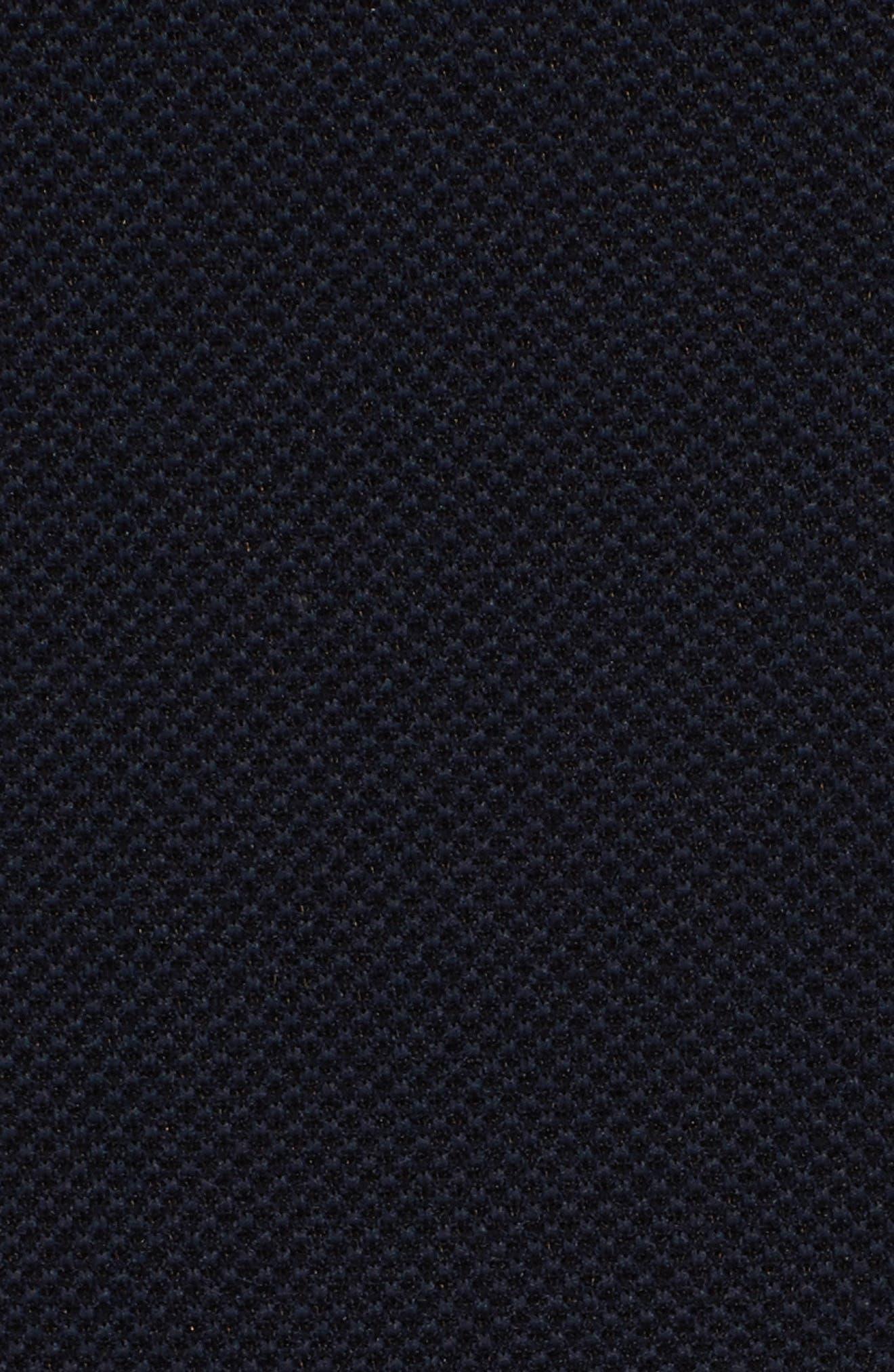 Piqué Skinny Pants,                             Alternate thumbnail 5, color,                             Black