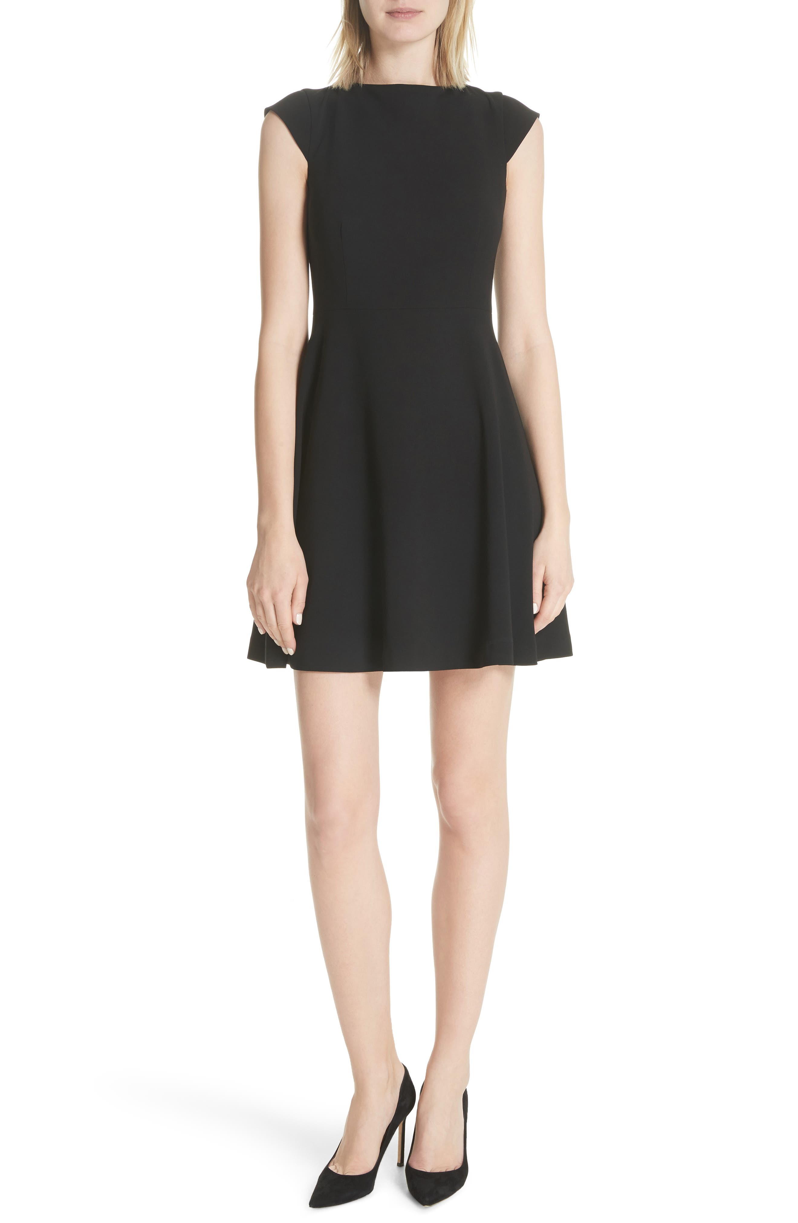 Theory Admiral Crepe Tie Back Dress
