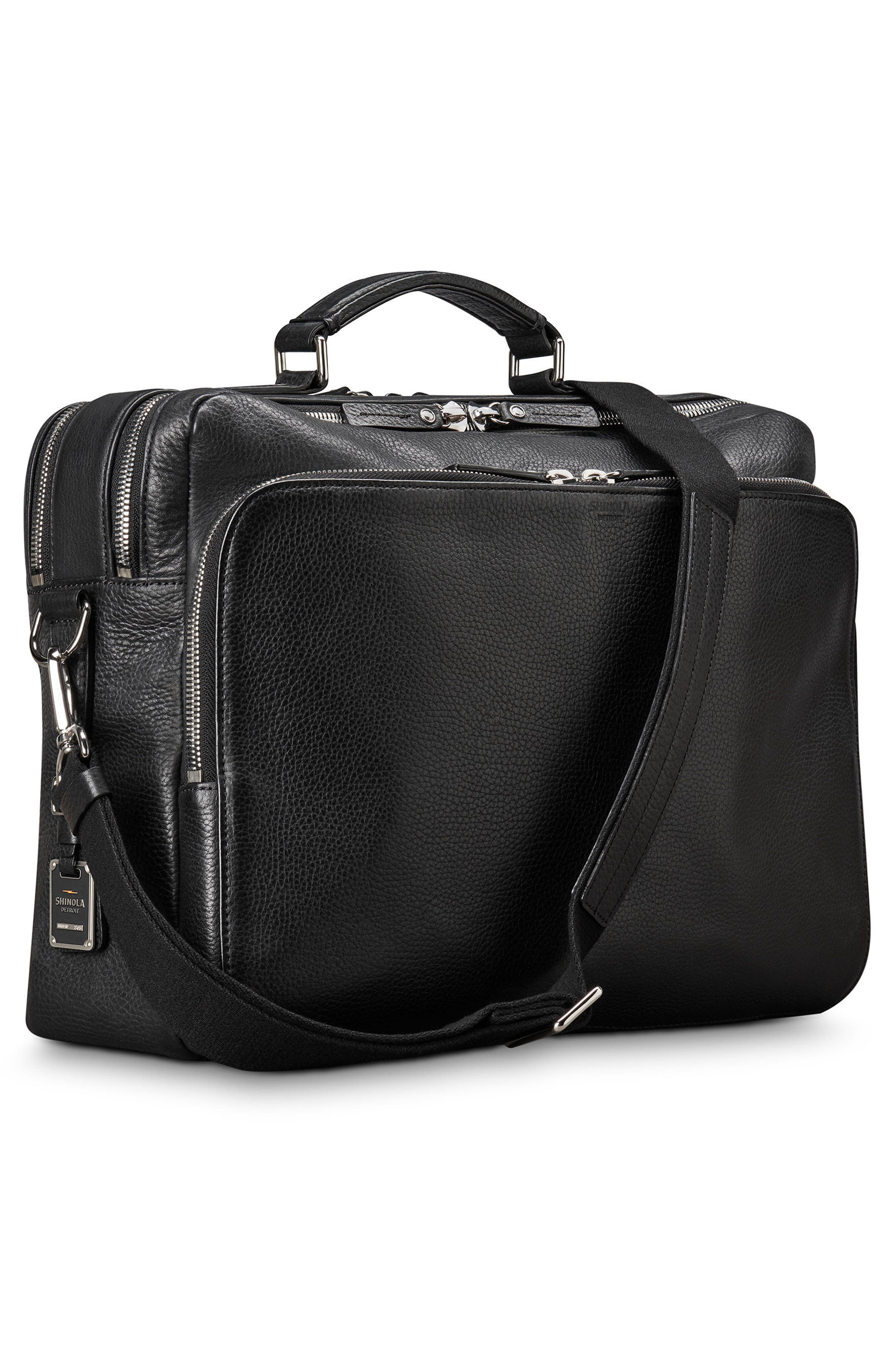 Canfield Briefcase,                             Alternate thumbnail 4, color,                             Black