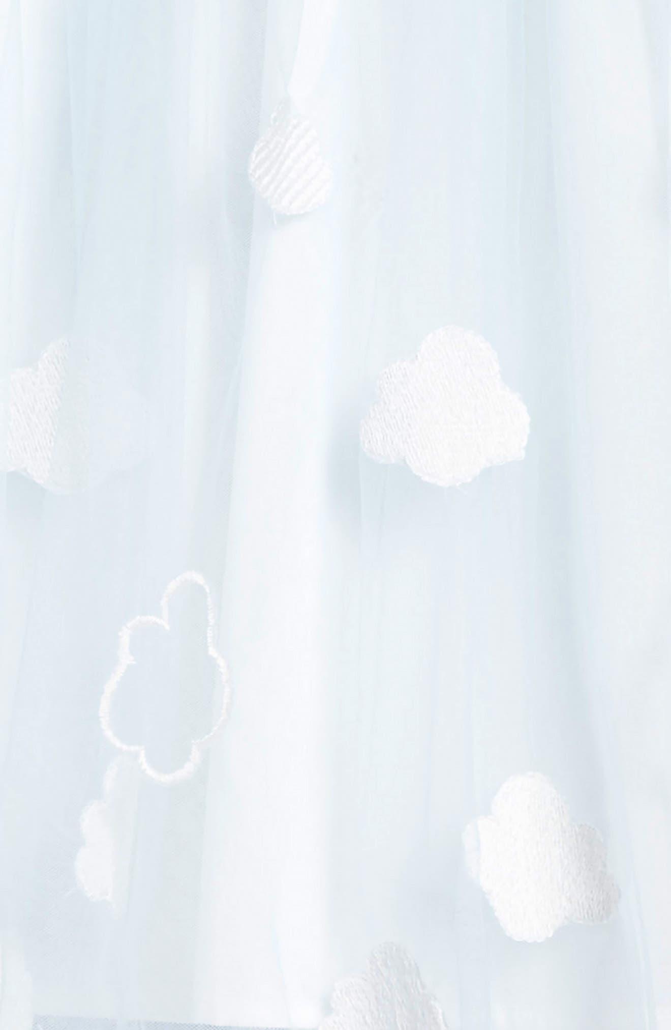 Alternate Image 3  - Popatu Embroidered Cloud Dress (Toddler Girls, Little Girls & Big Girls)