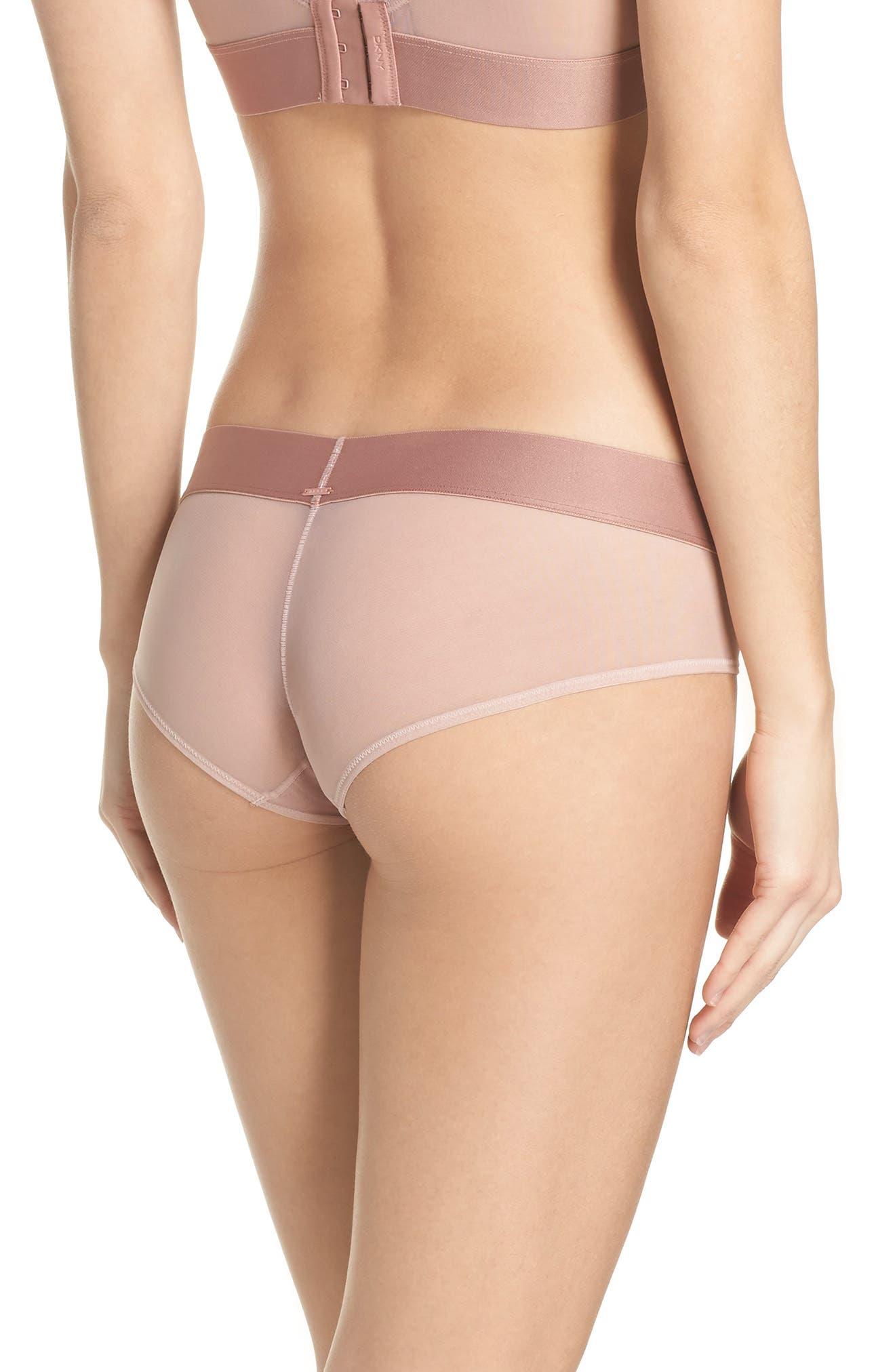 Alternate Image 2  - DKNY Sheers Hipster Panties