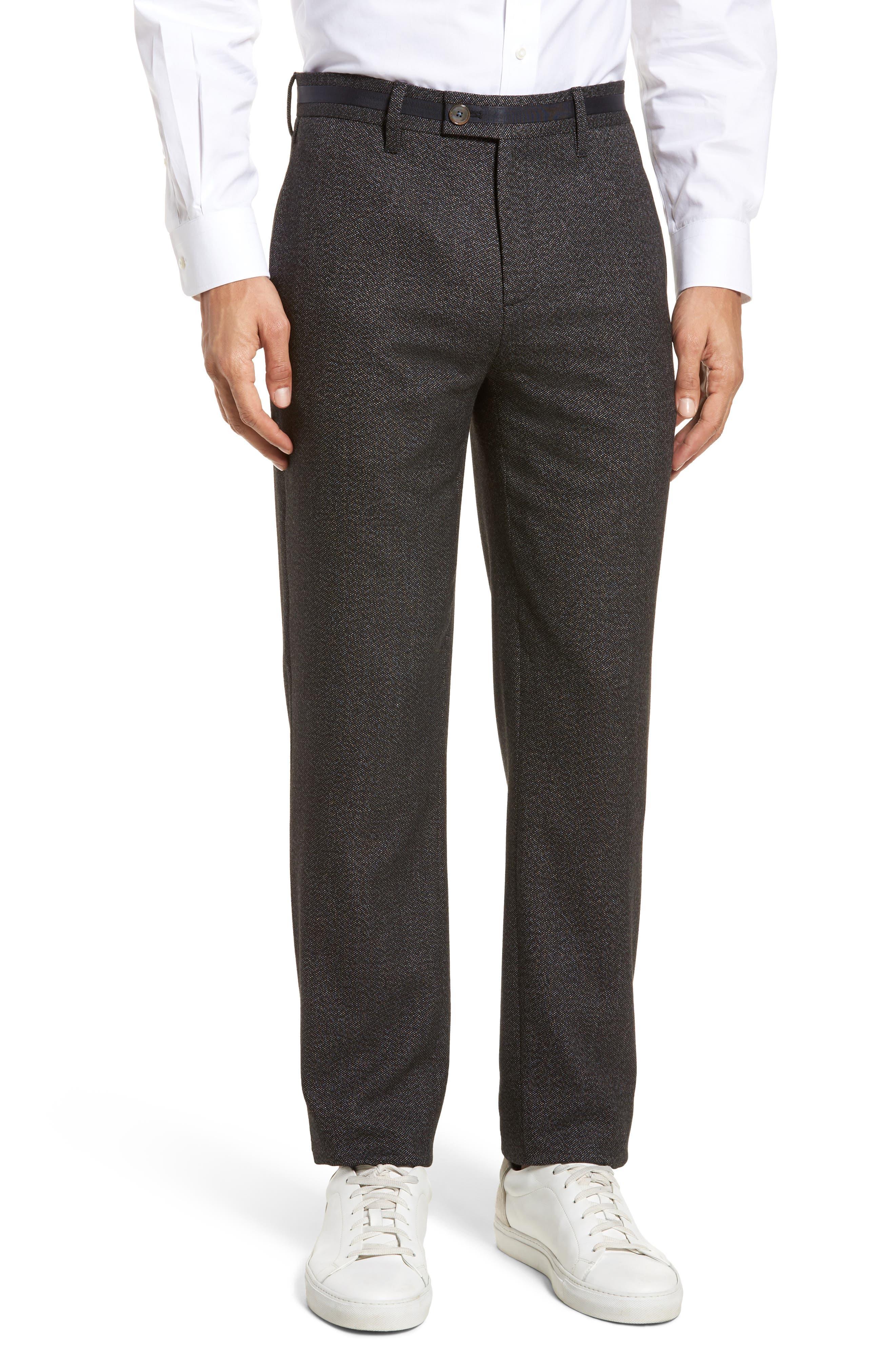 Ted Baker London Bektrot Trim Fit Trousers (Tall)