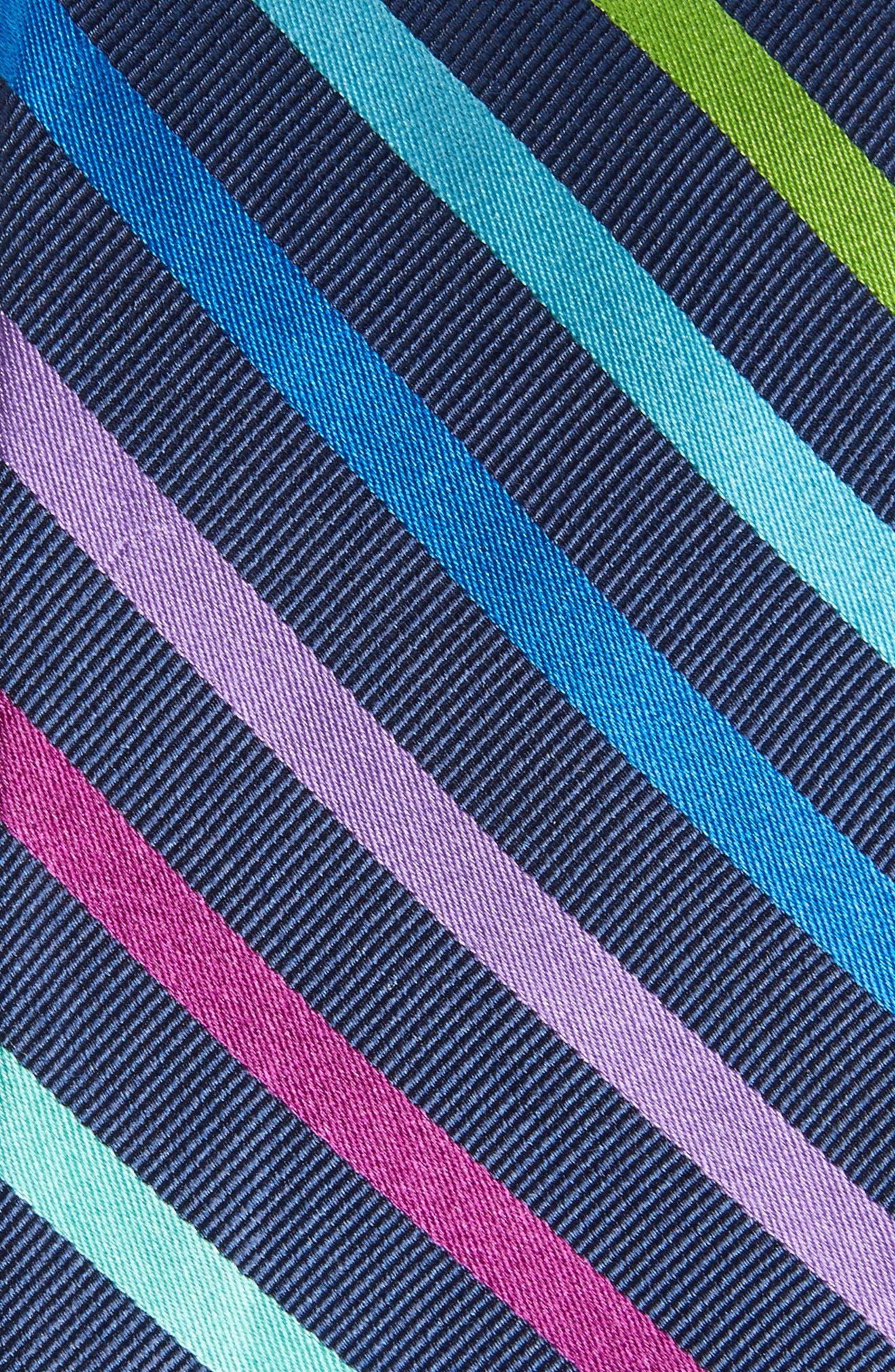 Alternate Image 2  - Nordstrom Men's Shop Simi Stripe Silk Tie