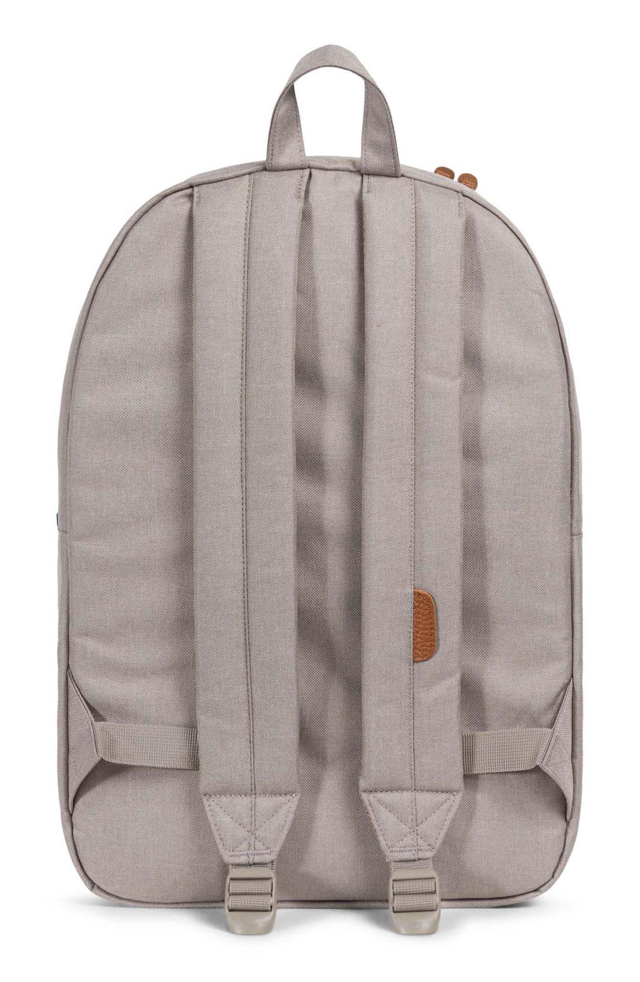 Heritage Backpack,                             Alternate thumbnail 2, color,                             Khaki/ Shadow/ Brick Red/ Tan