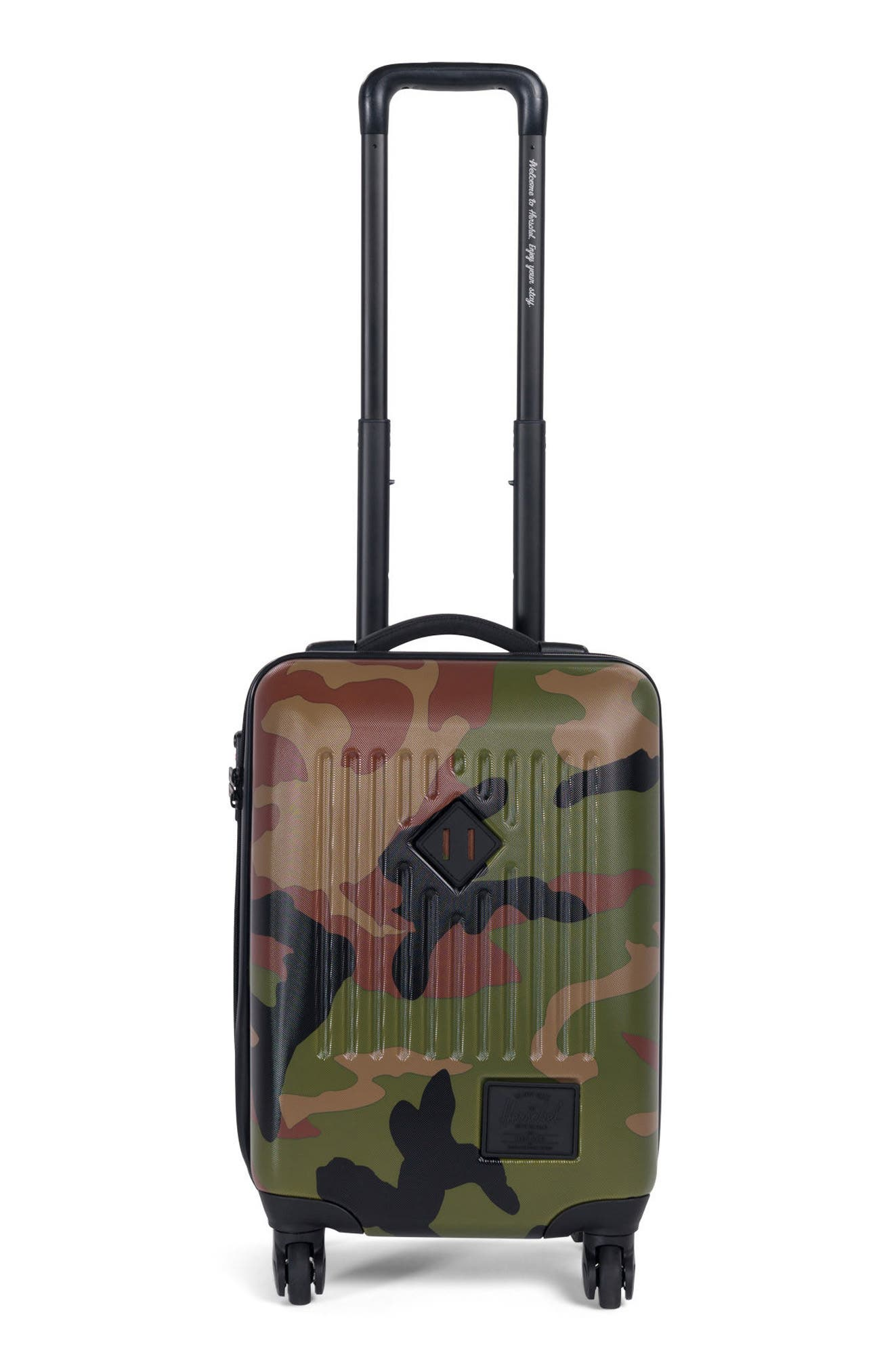 Trade 20-Inch Wheeled Carry-On,                         Main,                         color, Woodland Camo