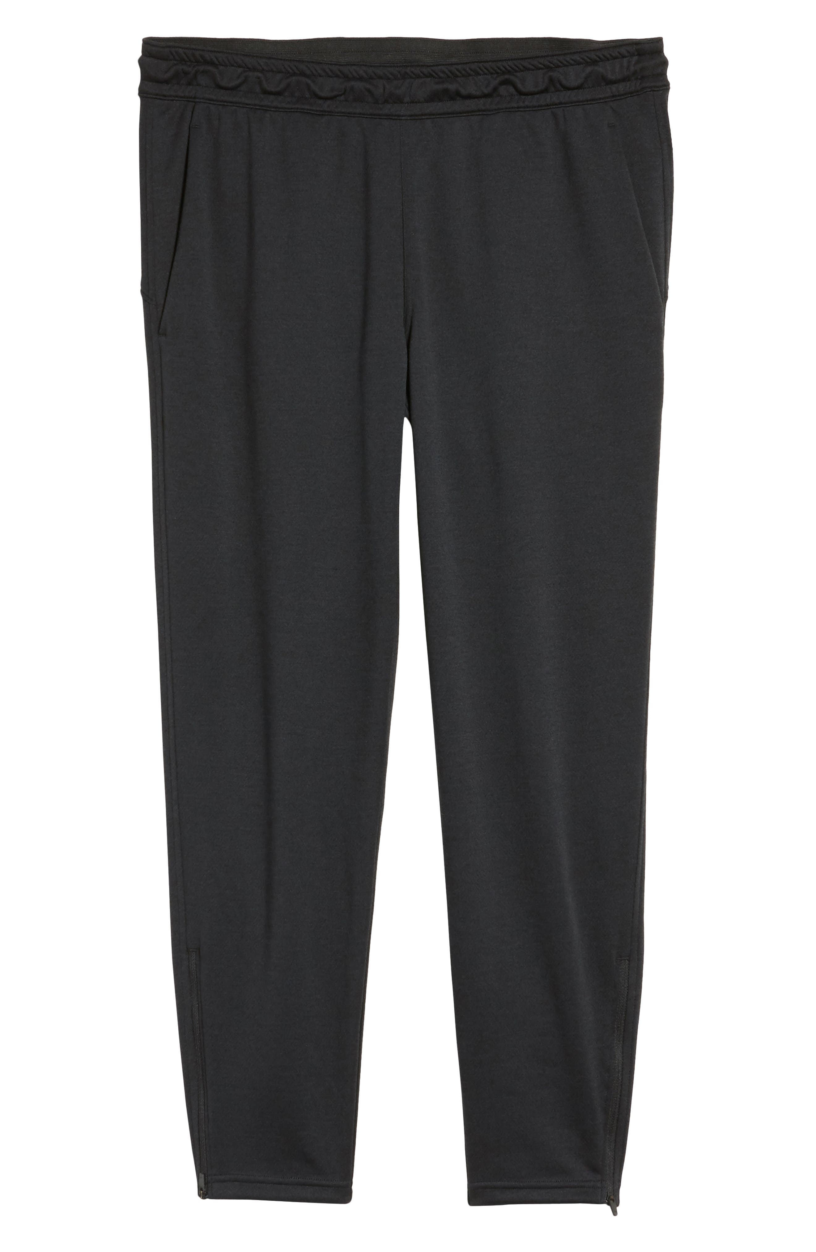 Cropped Jogger Pants,                             Alternate thumbnail 5, color,                             Black