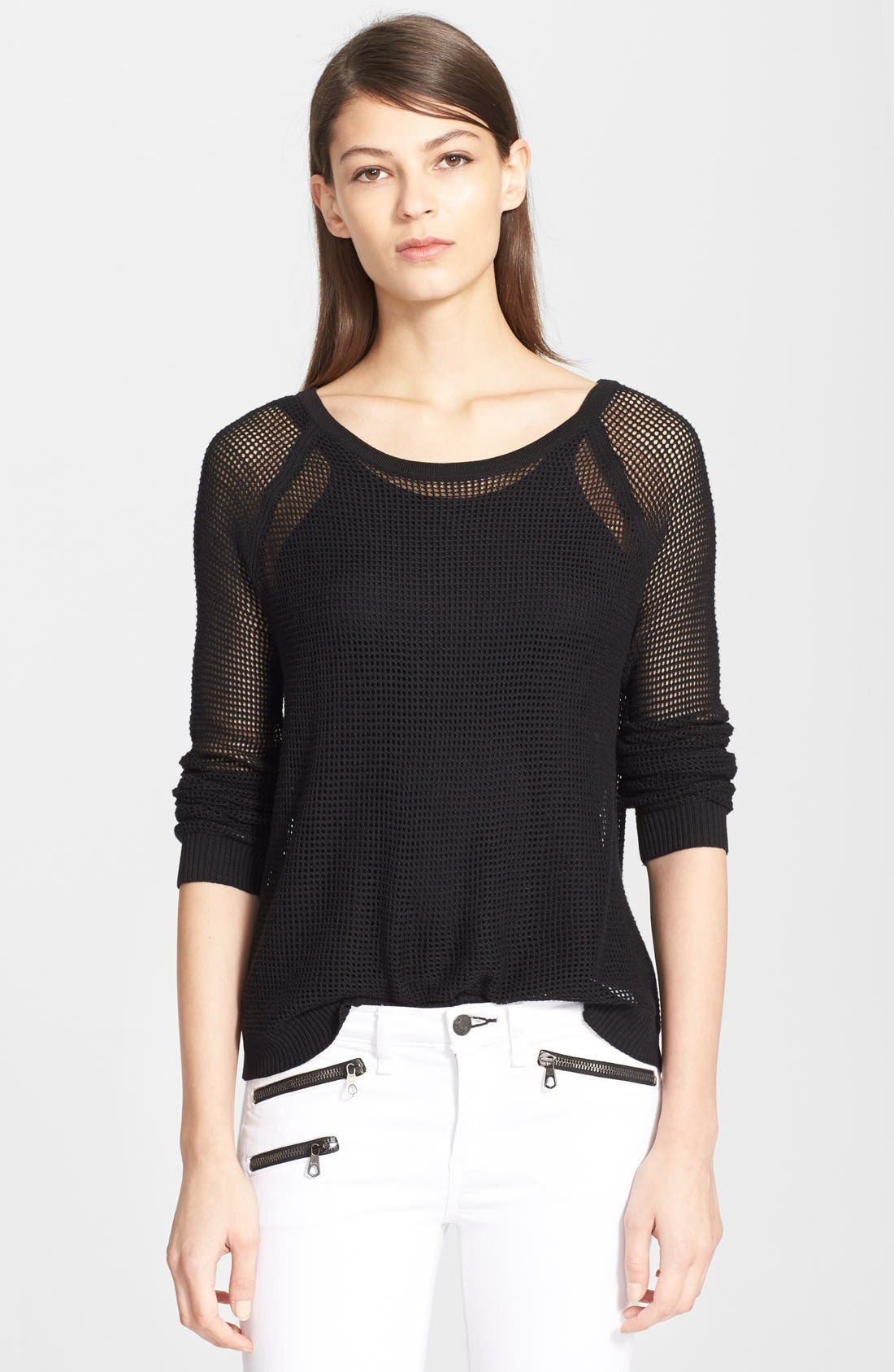 Main Image - rag & bone/JEAN 'Odette' Raglan Pullover