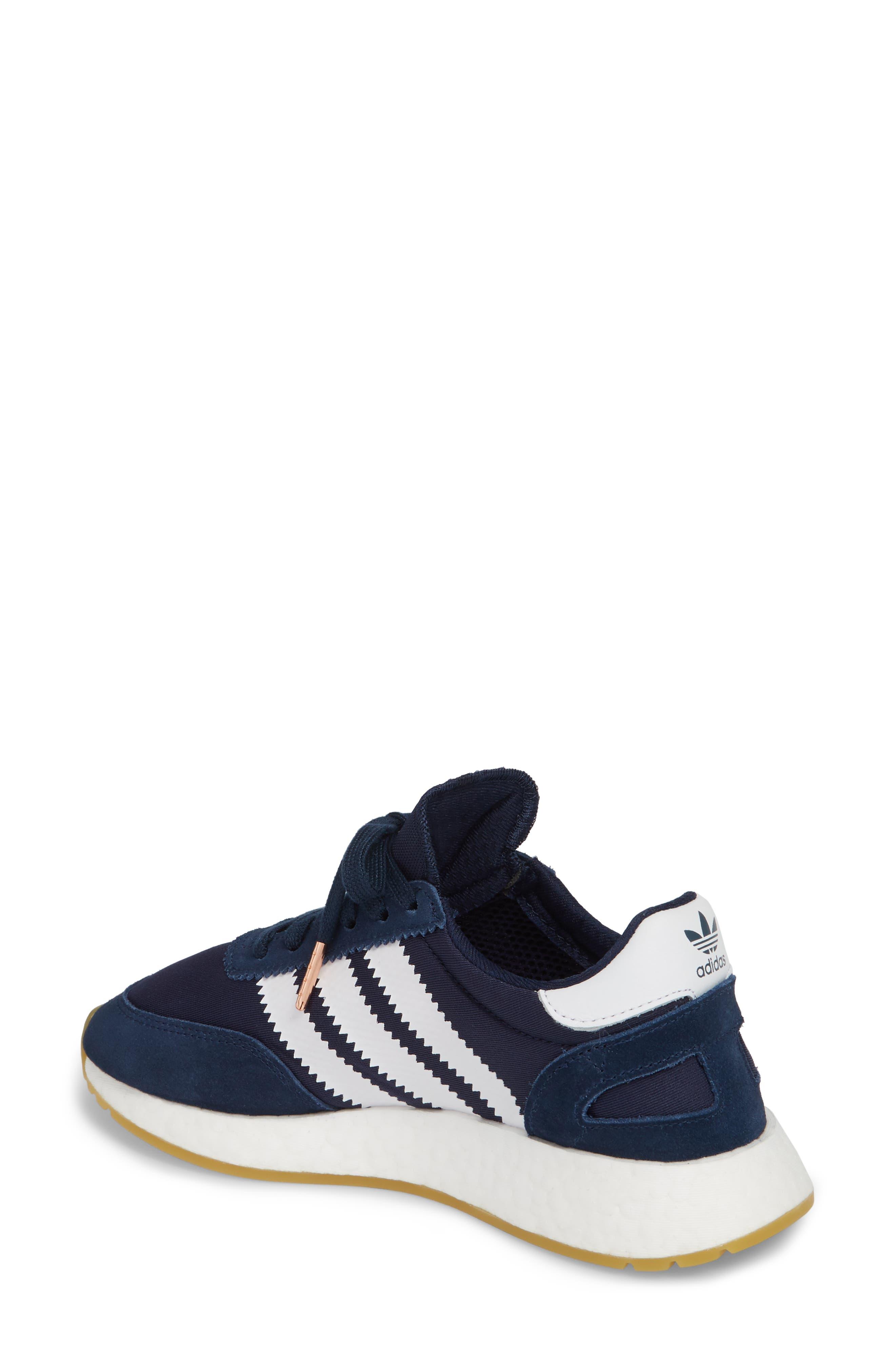 I-5923 Sneaker,                             Alternate thumbnail 2, color,                             Navy/ White/ Gum
