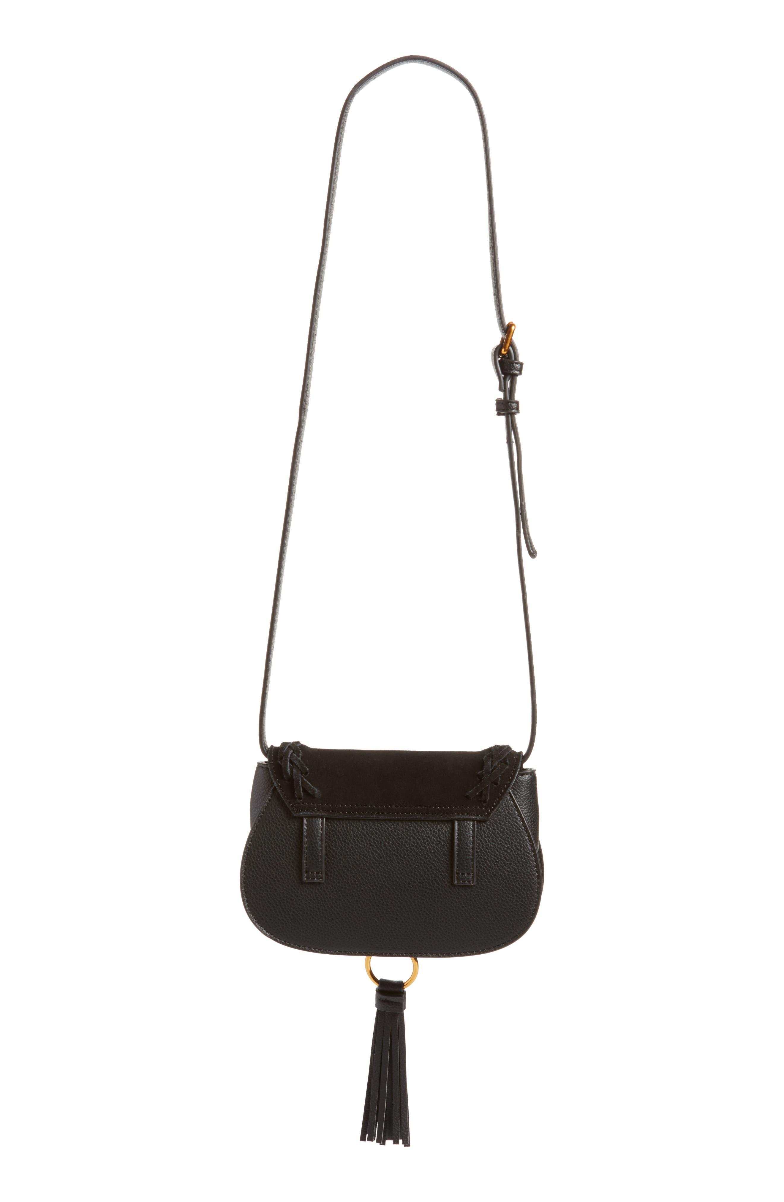 Convertible Crossbody Bag,                             Alternate thumbnail 3, color,                             Black