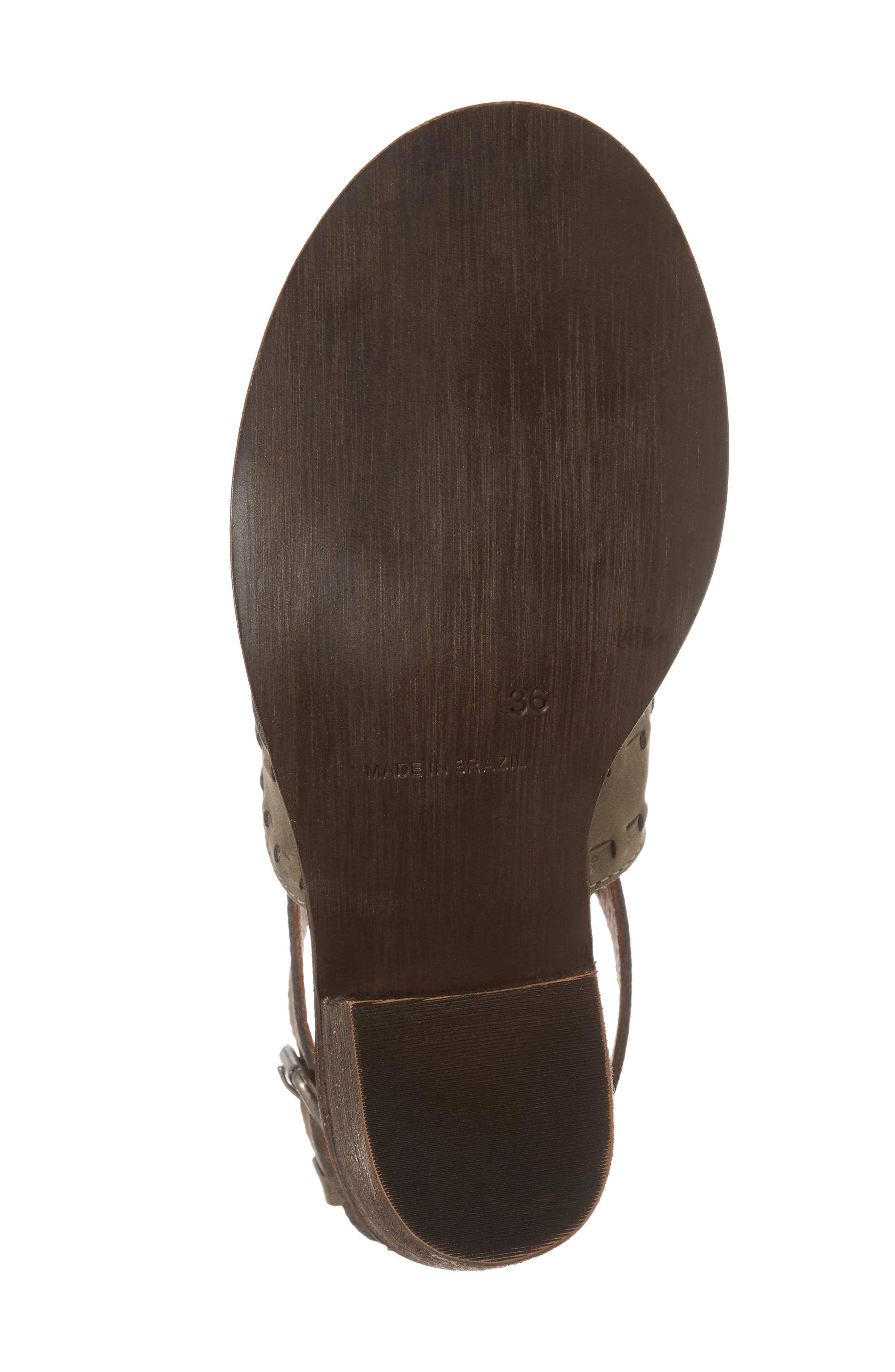 Volcano Sandal,                             Alternate thumbnail 6, color,                             Grey Leather