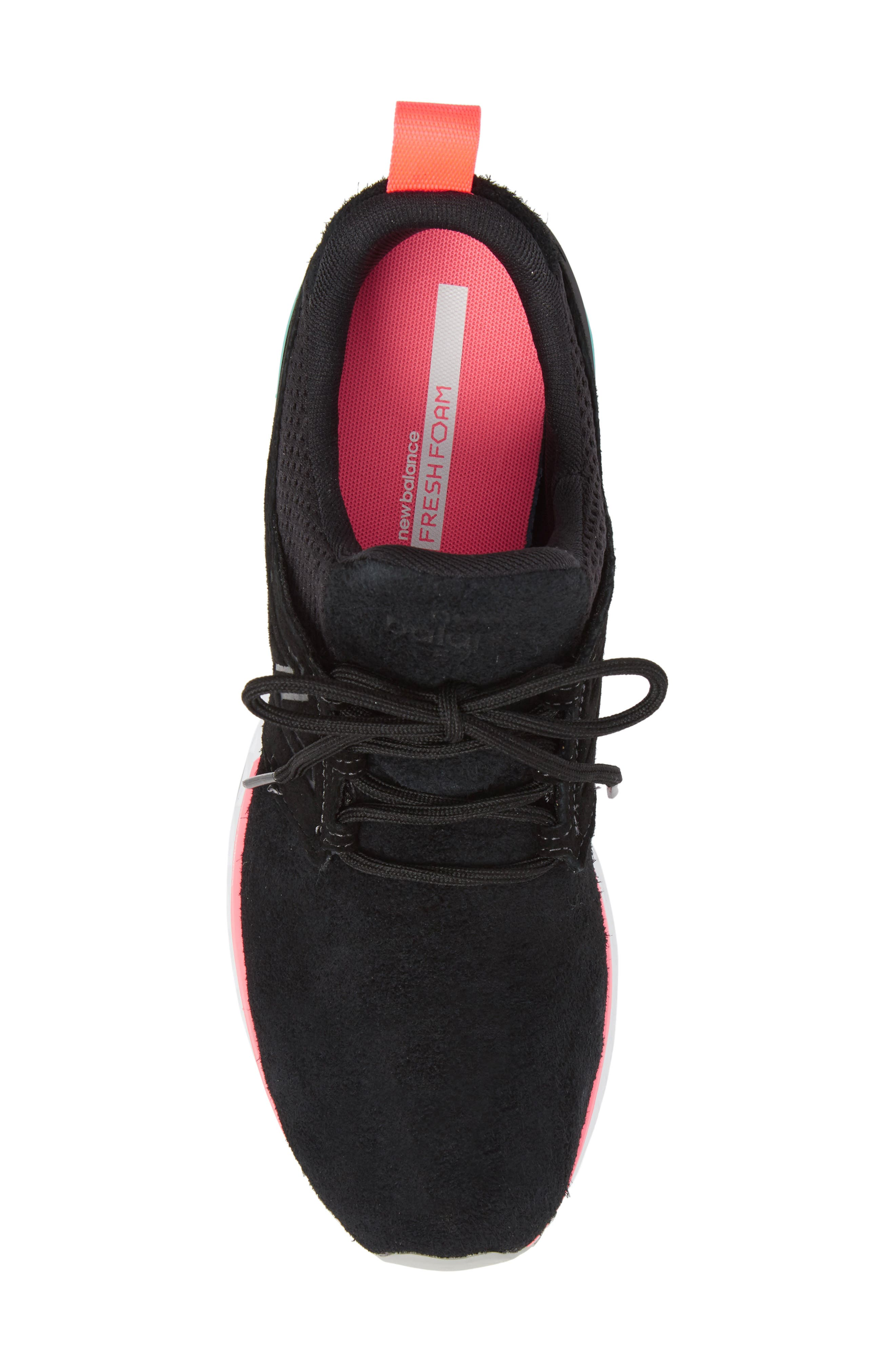 574 Sport Sneaker,                             Alternate thumbnail 5, color,                             Black