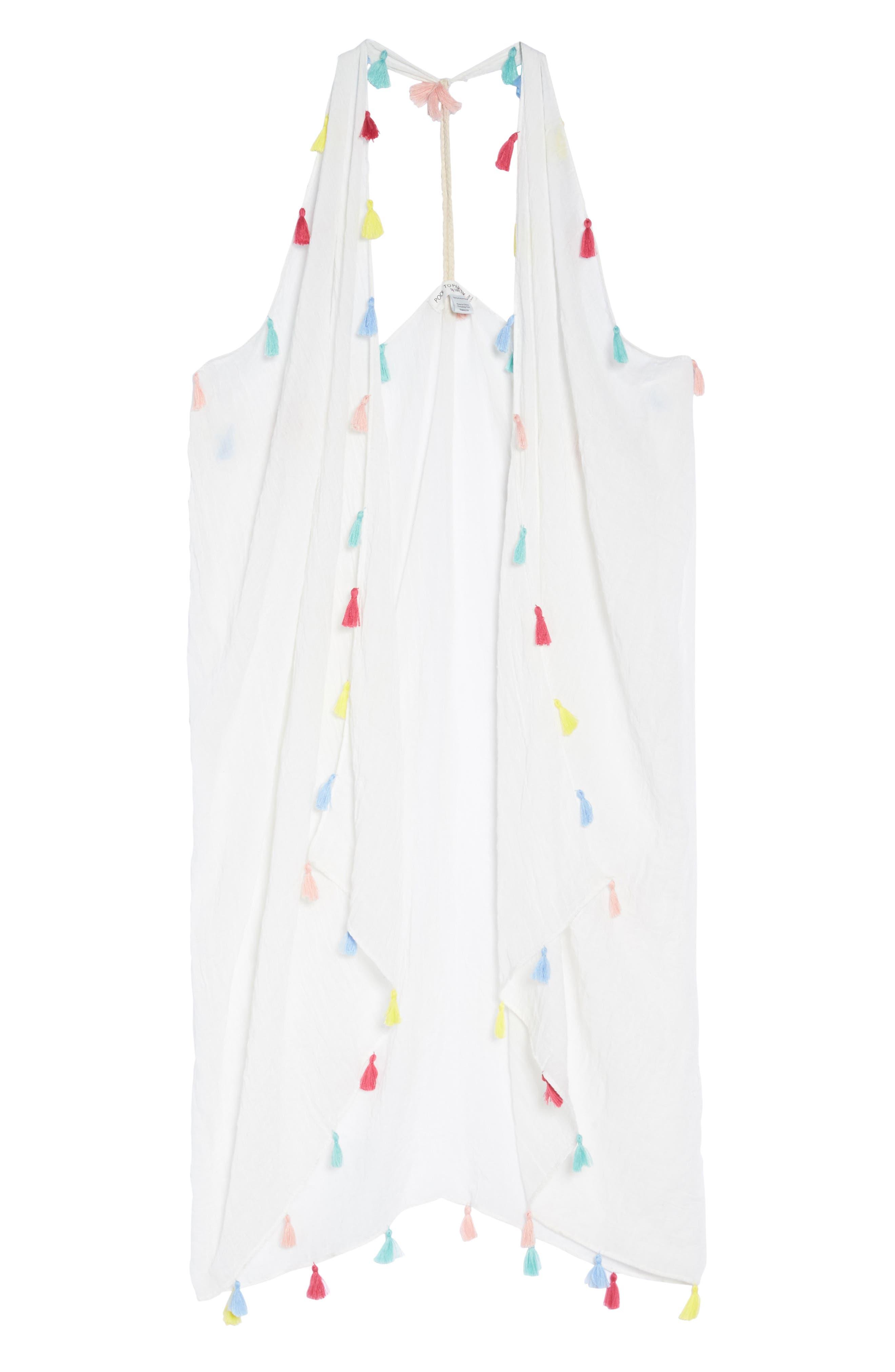 Spirit Cover-Up Vest,                             Alternate thumbnail 9, color,                             White