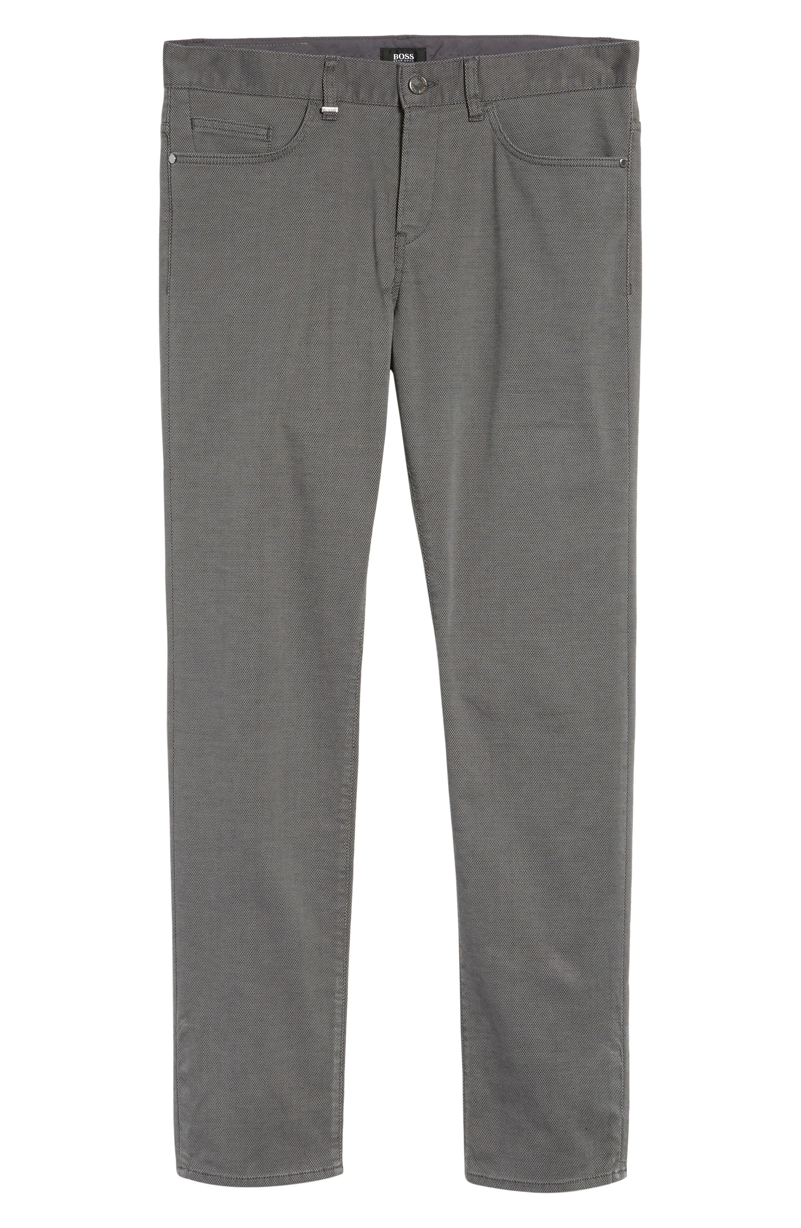 Delaware Slim Fit Structure Jeans,                             Alternate thumbnail 10, color,                             Grey