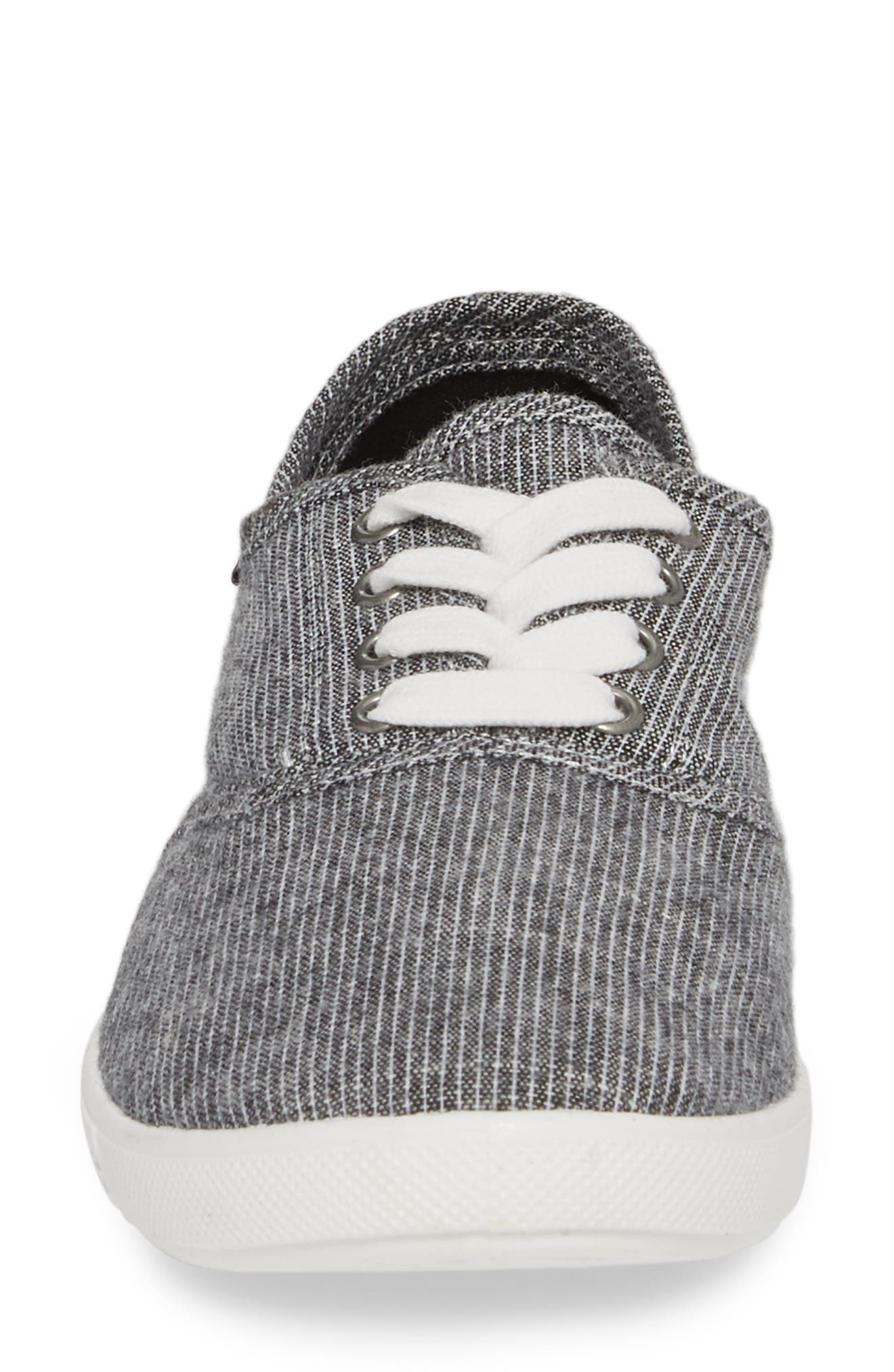 Addy Sneaker,                             Alternate thumbnail 4, color,                             Black/ White