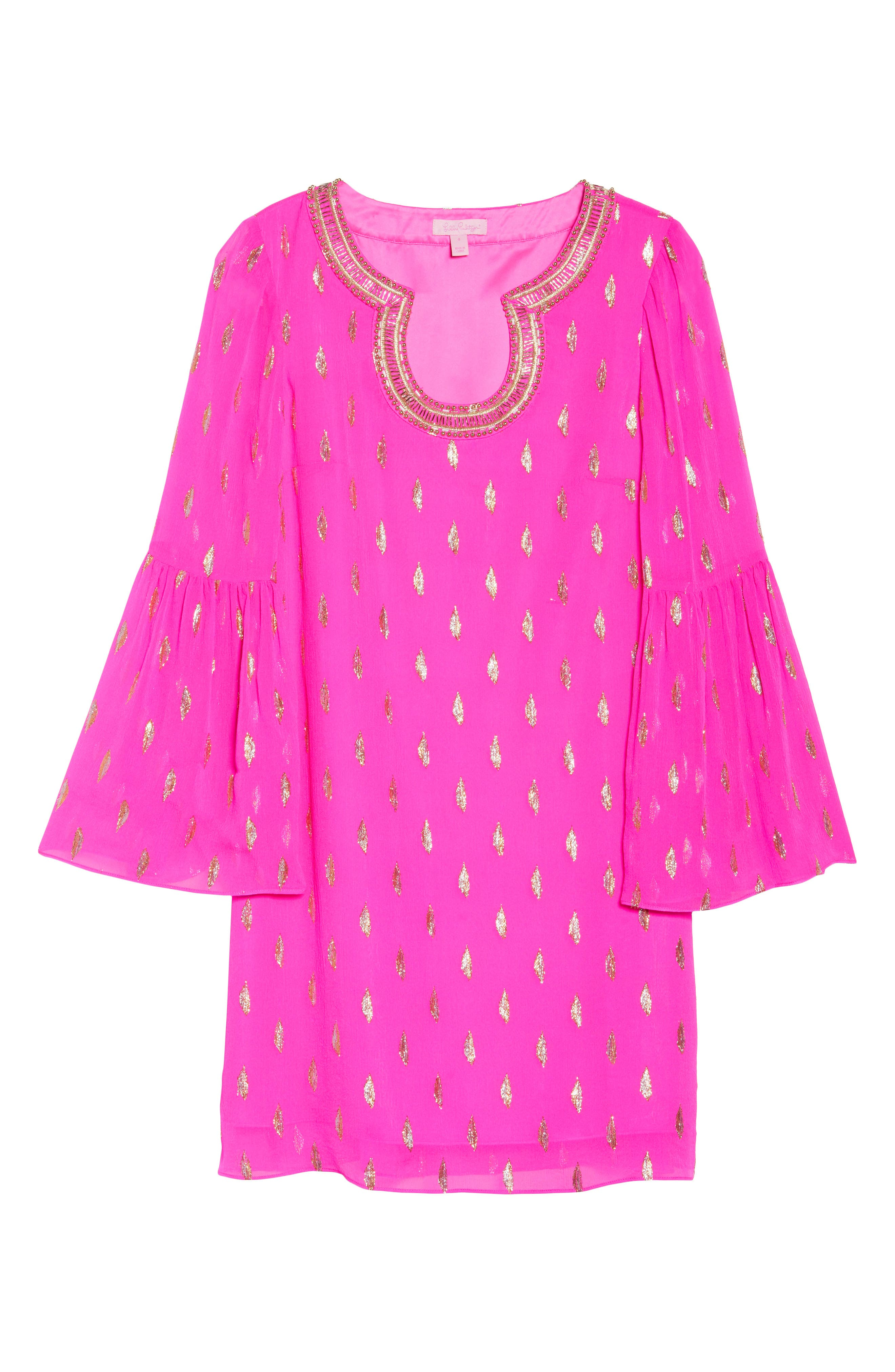 Alternate Image 6  - Lilly Pulitzer® Amory Silk Tunic Dress