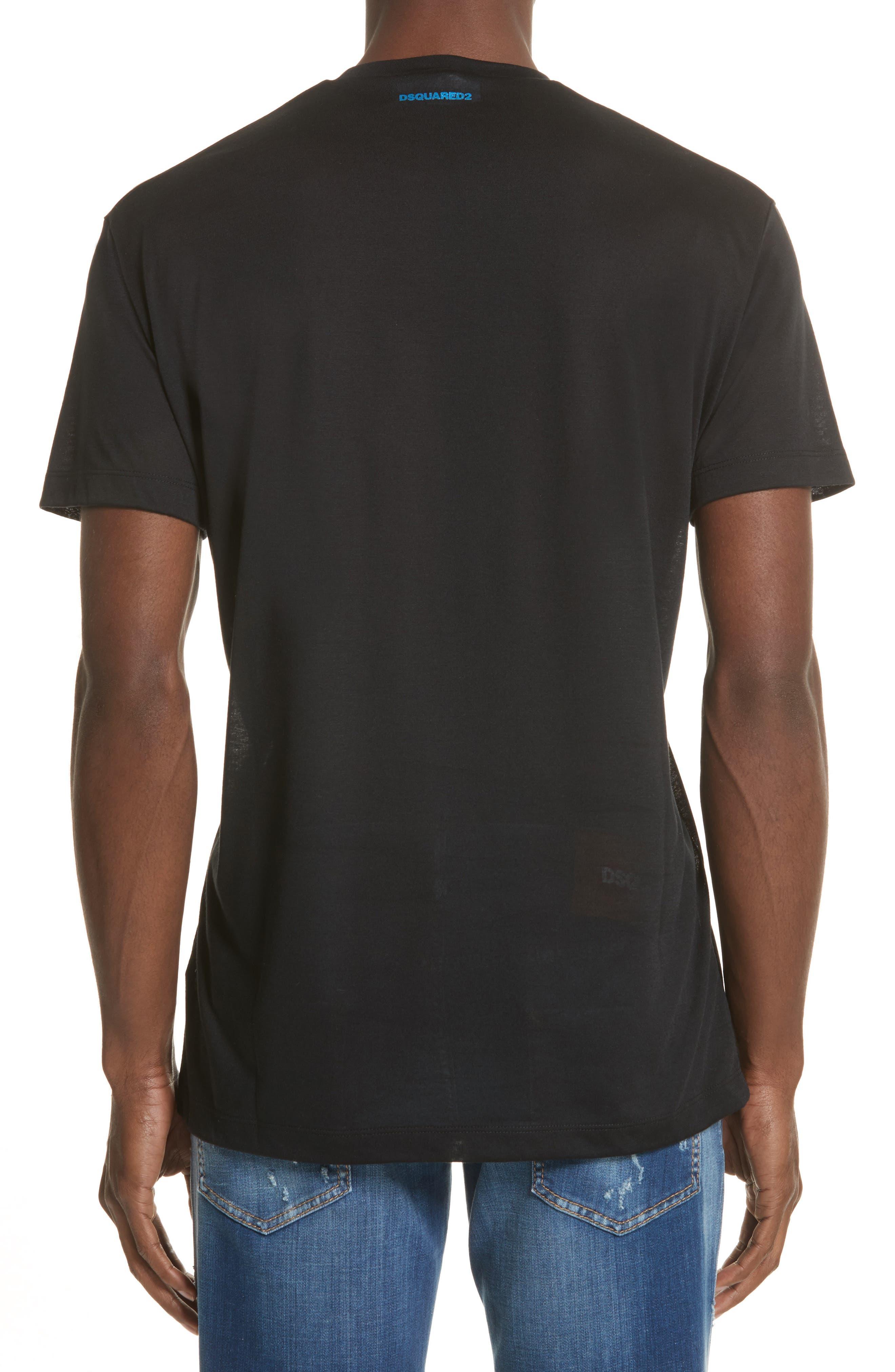 City of Stars Graphic T-Shirt,                             Alternate thumbnail 2, color,                             Black