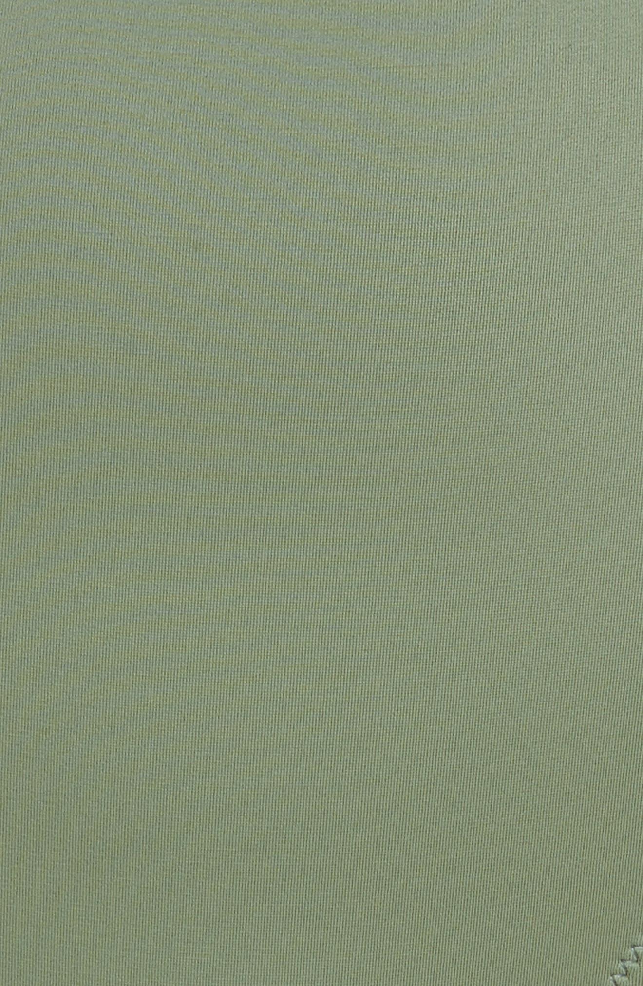 The Jessica High Waist Bikini Bottoms,                             Alternate thumbnail 8, color,                             Green