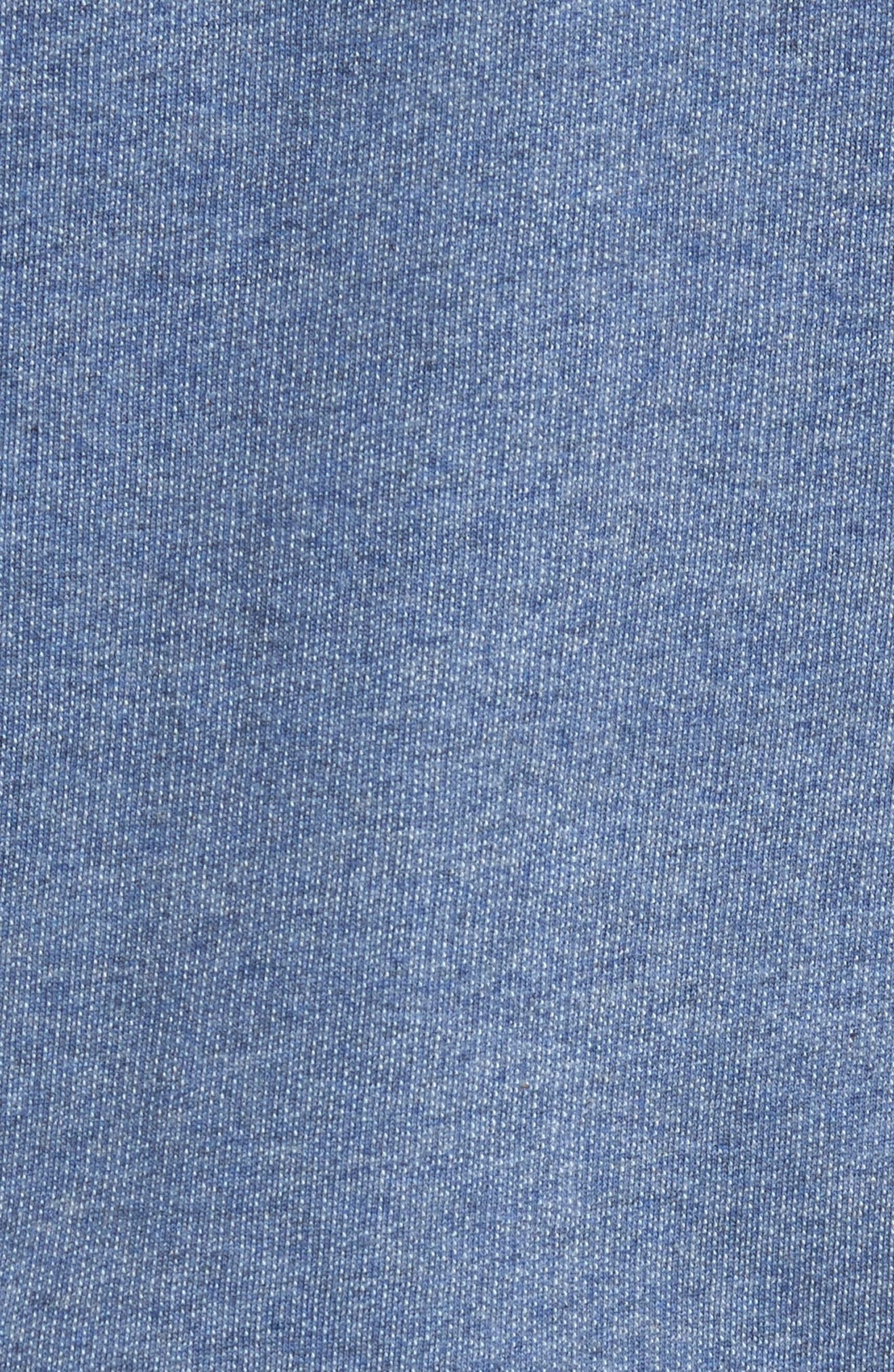 Fitz Roy Frostbite PolyCycle<sup>®</sup> Full Zip Hoodie,                             Alternate thumbnail 5, color,                             Dolomite Blue