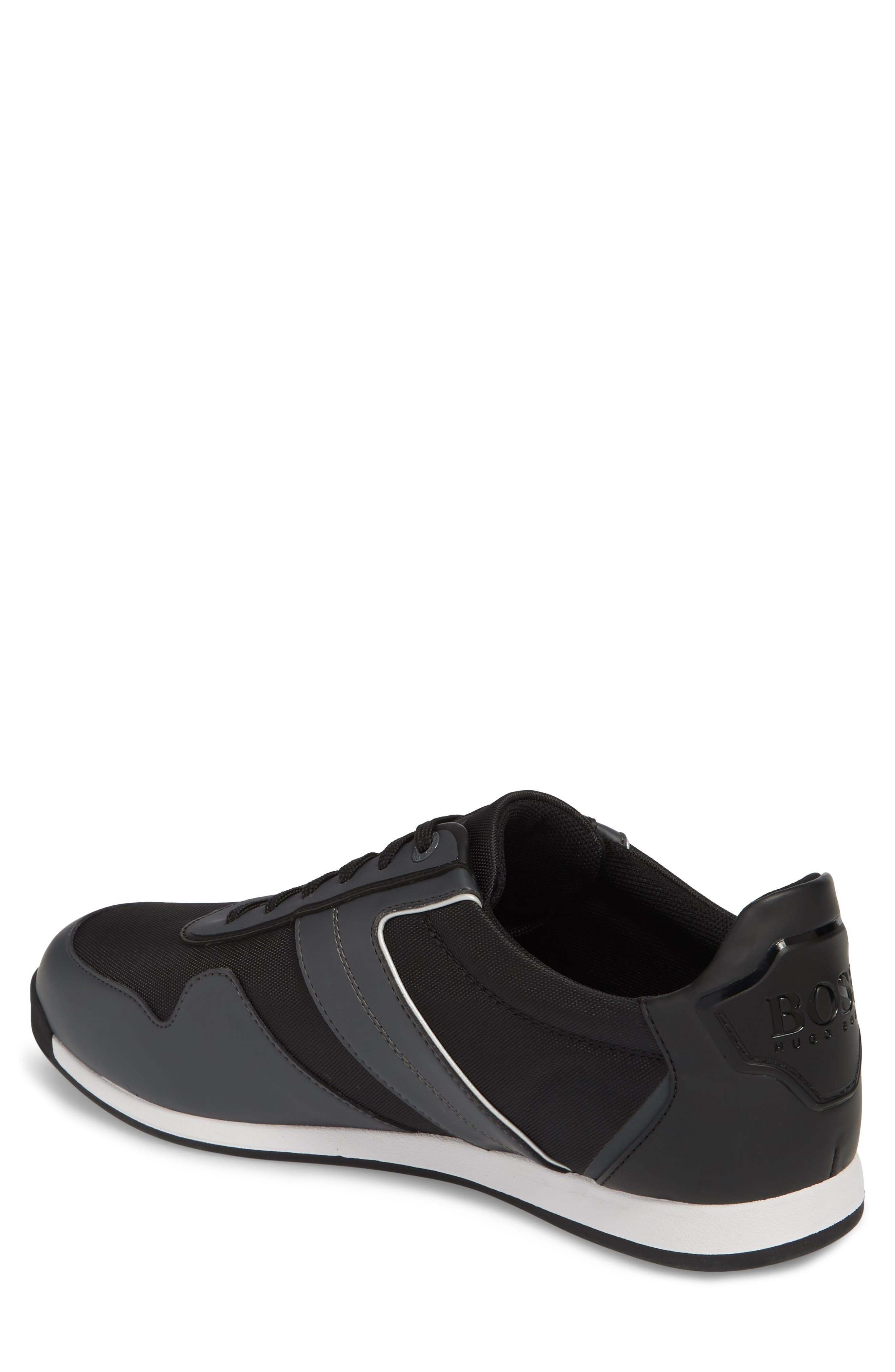 Maze Water Resistant Low Top Sneaker,                             Alternate thumbnail 2, color,                             Charcoal