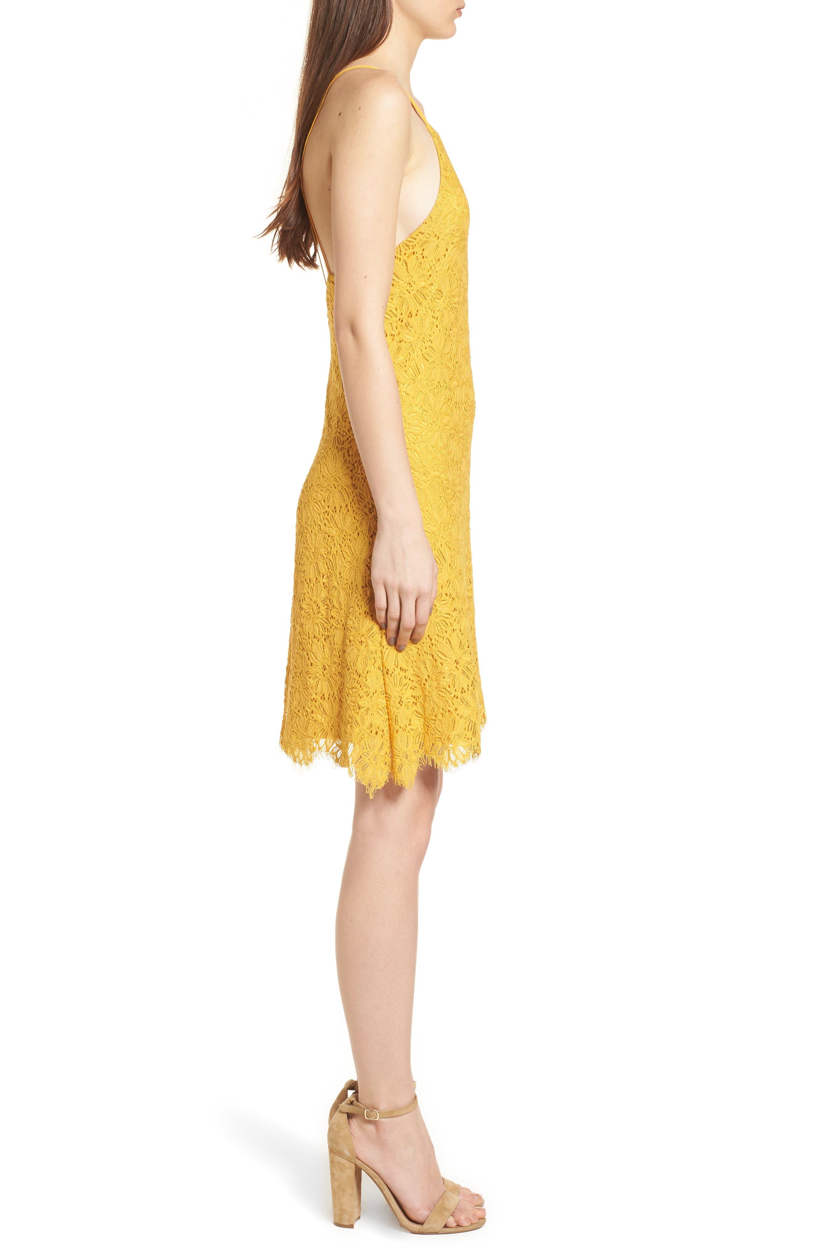 Alternate Image 3  - Speechless Lace Shift Dress