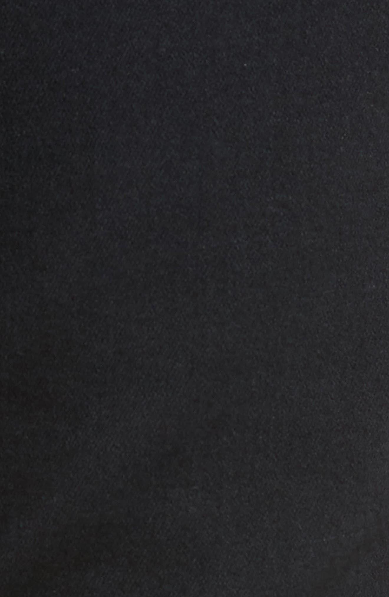 Super Skinny Guy Skinny Fit Jeans,                             Alternate thumbnail 5, color,                             Black