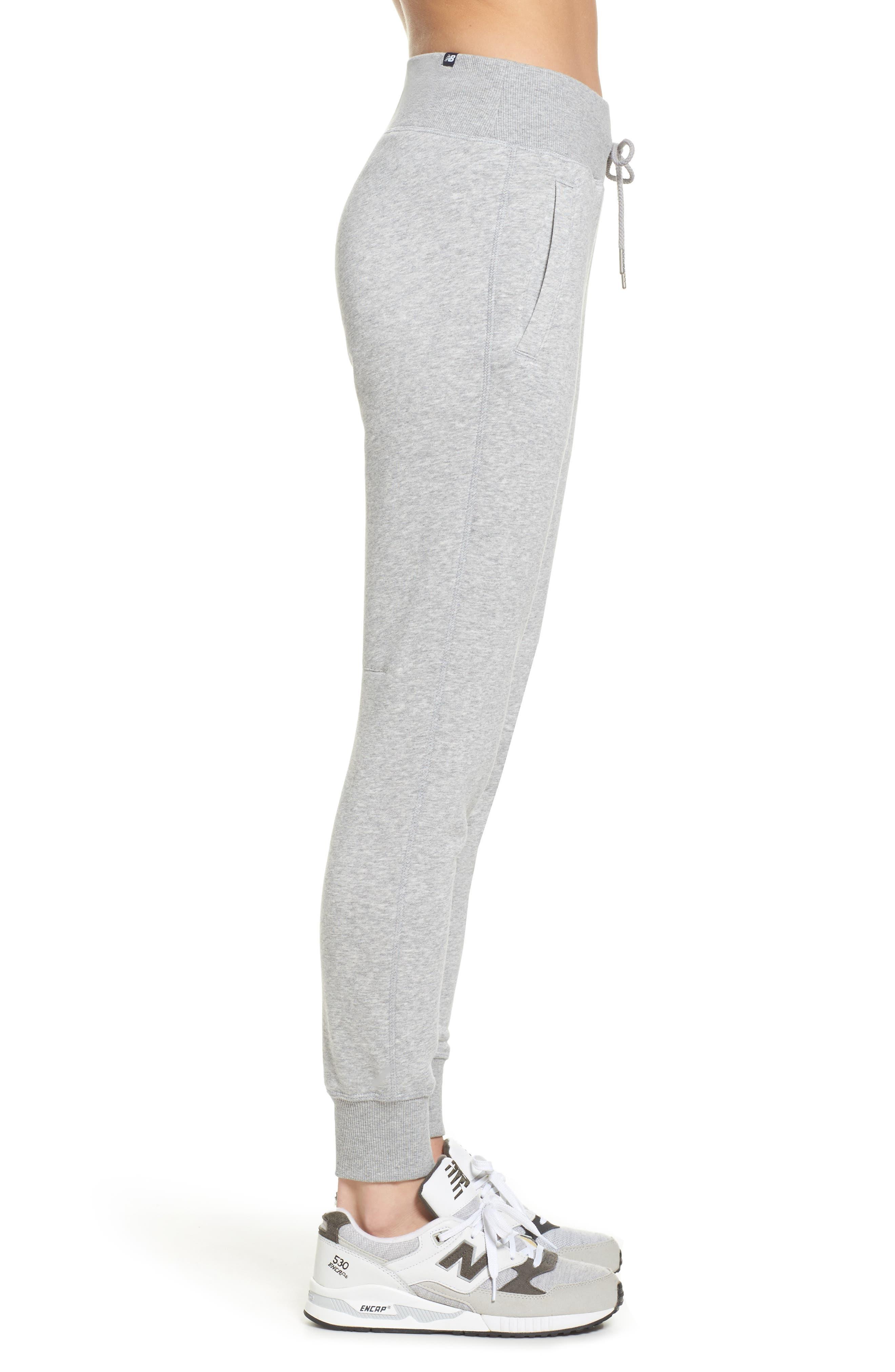 Essentials Sweatpants,                             Alternate thumbnail 3, color,                             Athletic Grey