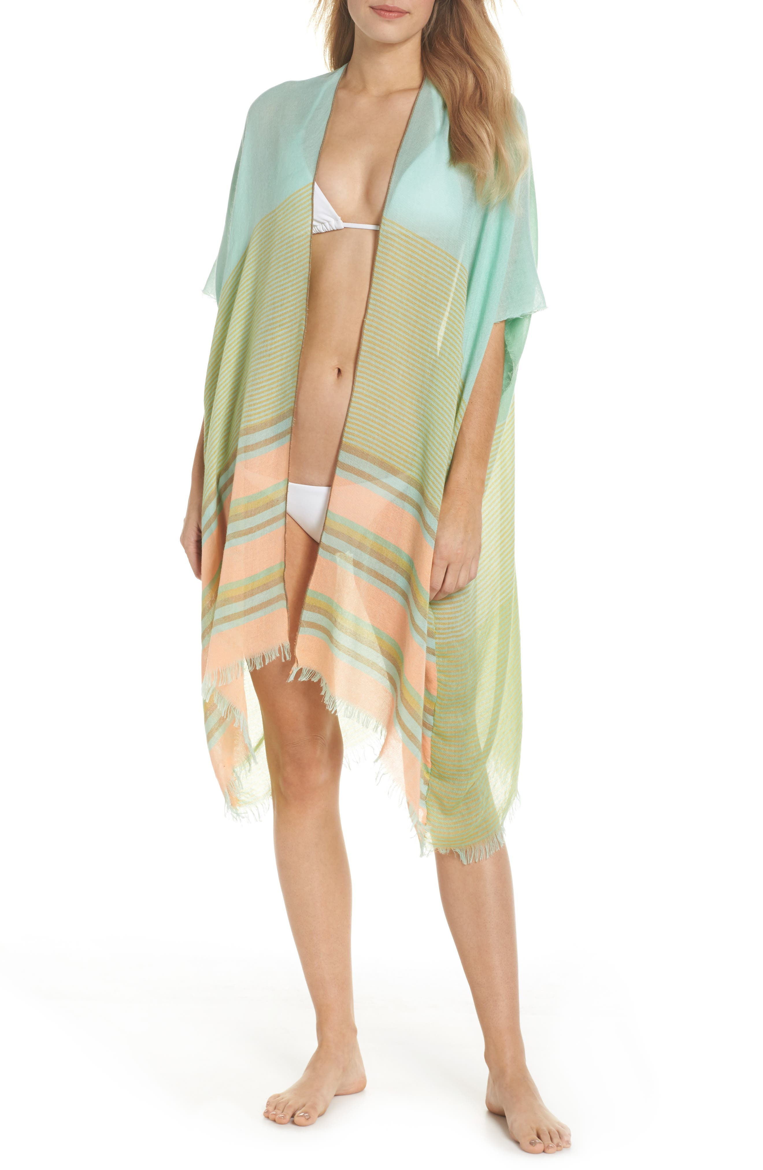 Topper Cover-Up,                         Main,                         color, Mint