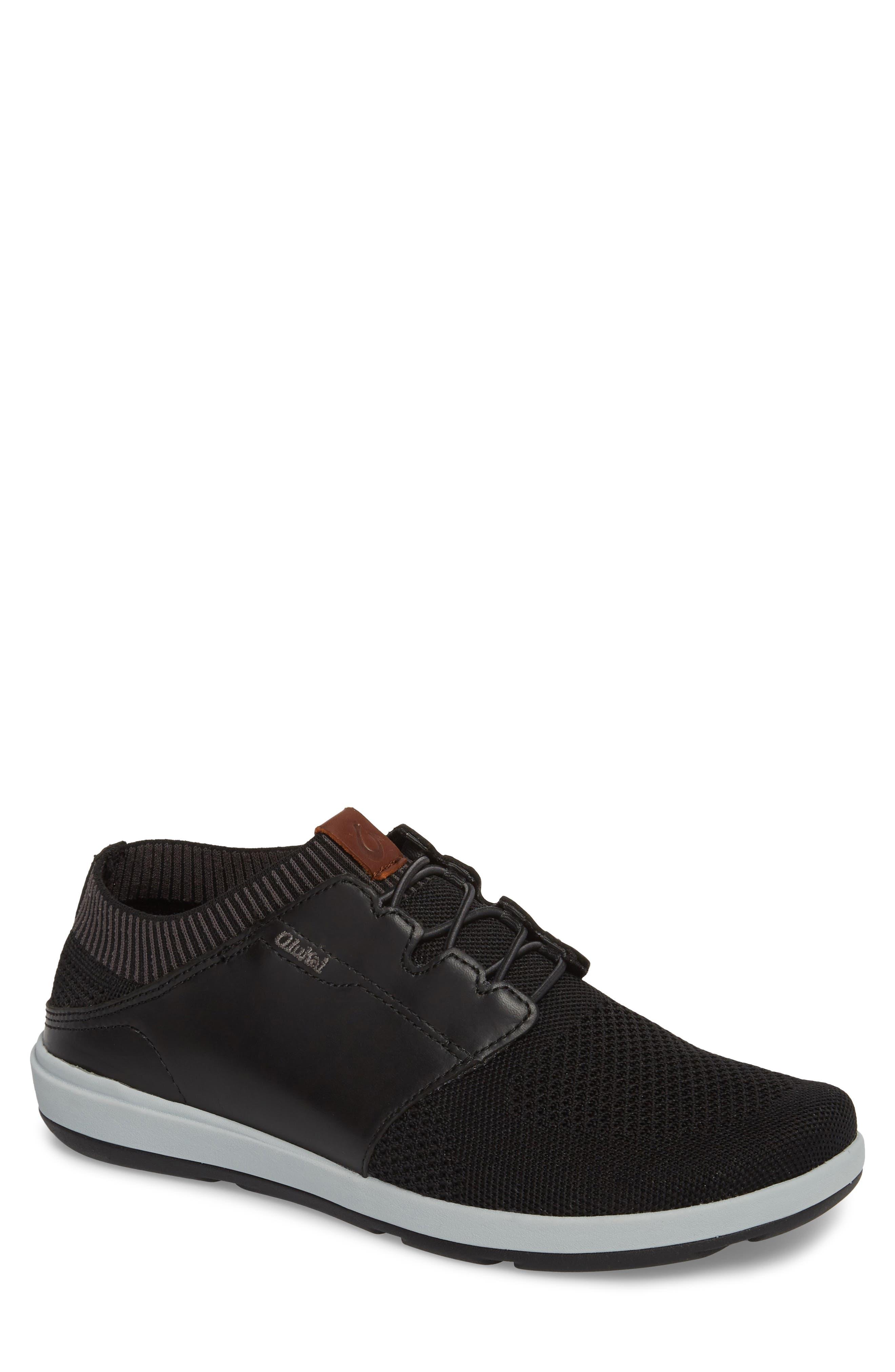 Makia Ulana Sneaker,                         Main,                         color, Black/ Black
