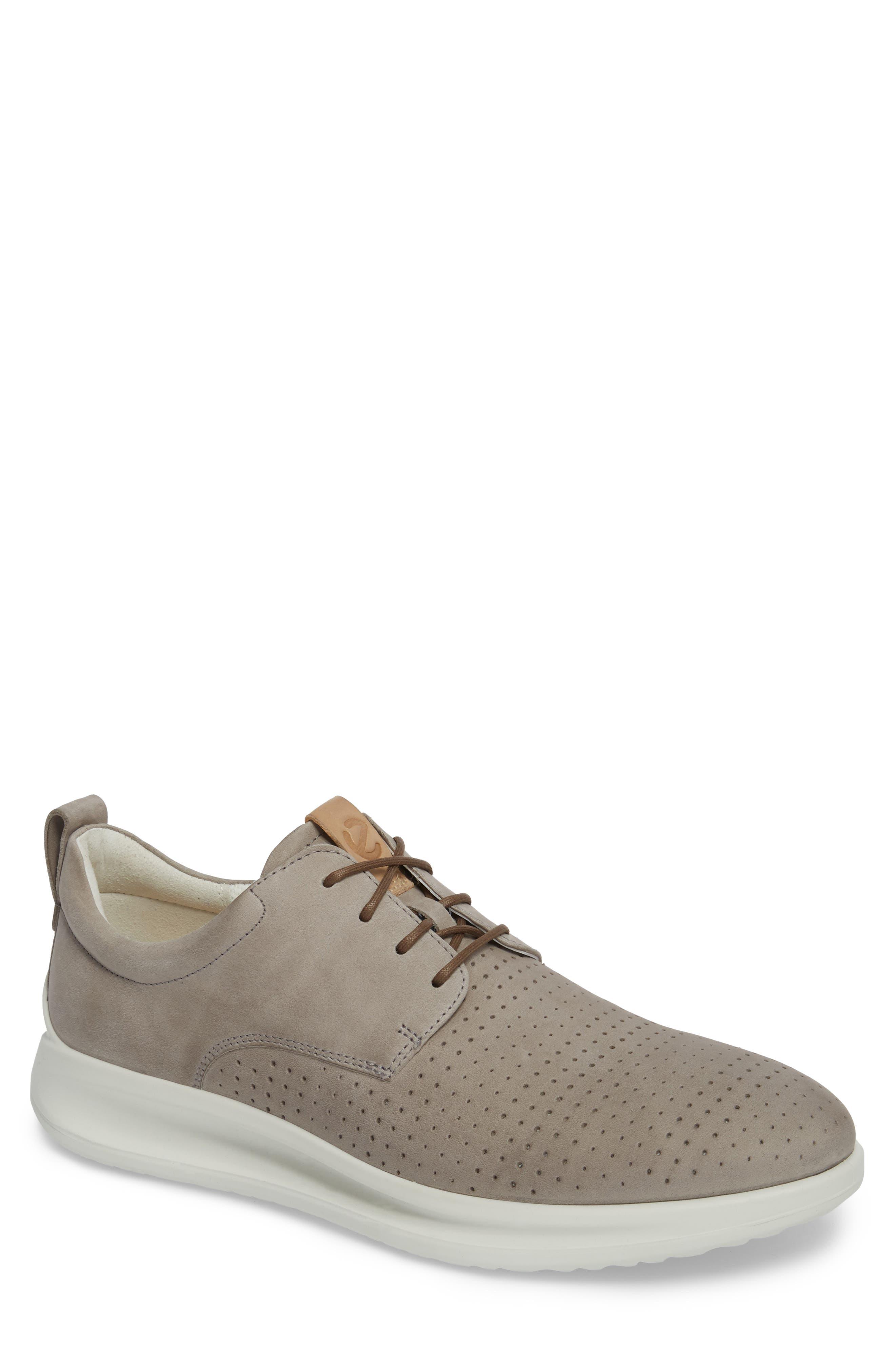 Aquet Sneaker,                         Main,                         color, Moon Rock Leather