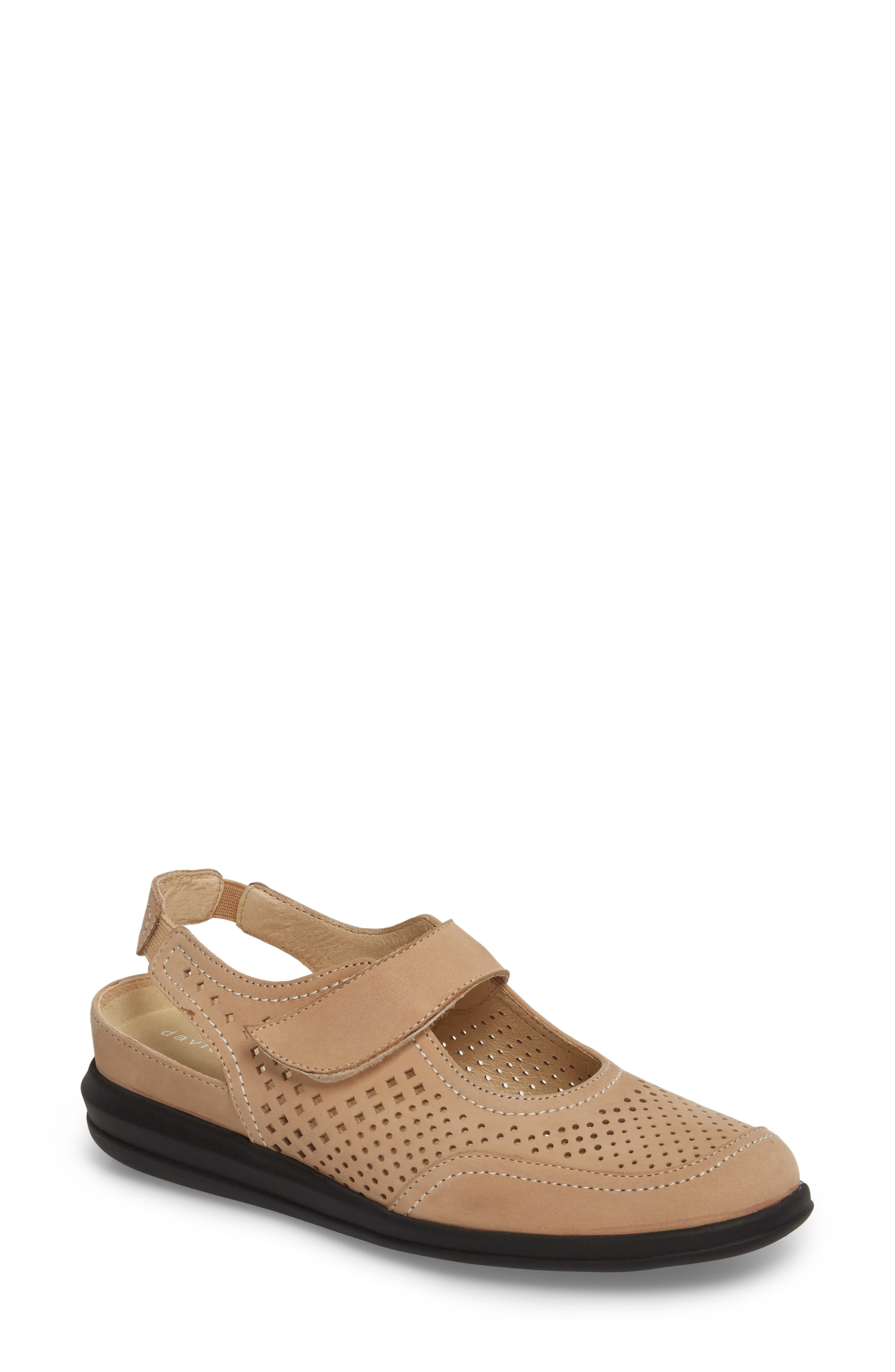 Clever Slingback Sneaker,                             Main thumbnail 1, color,                             Sand Nubuck