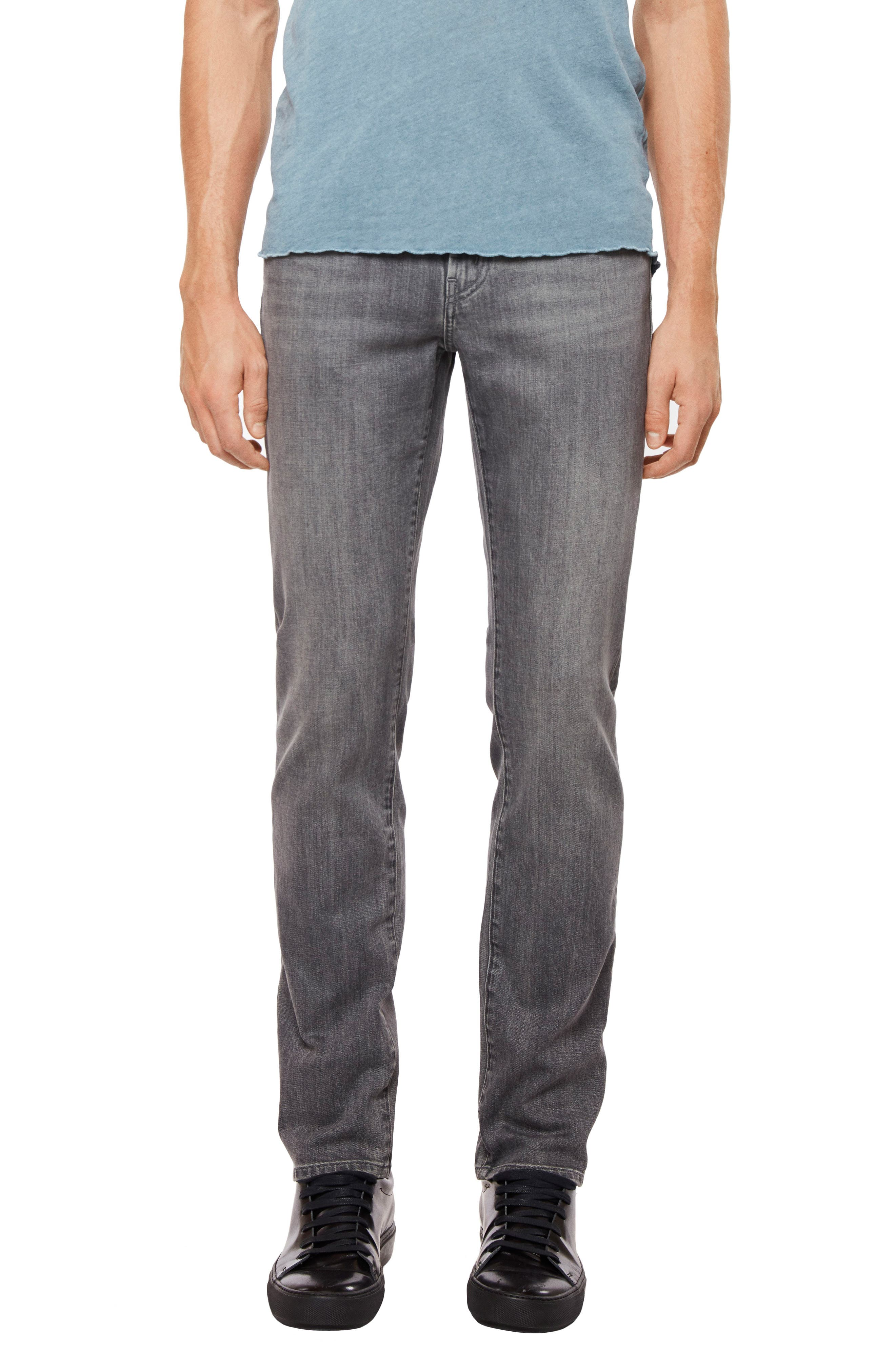 Tyler Slim Fit Jeans,                             Main thumbnail 1, color,                             Tributary