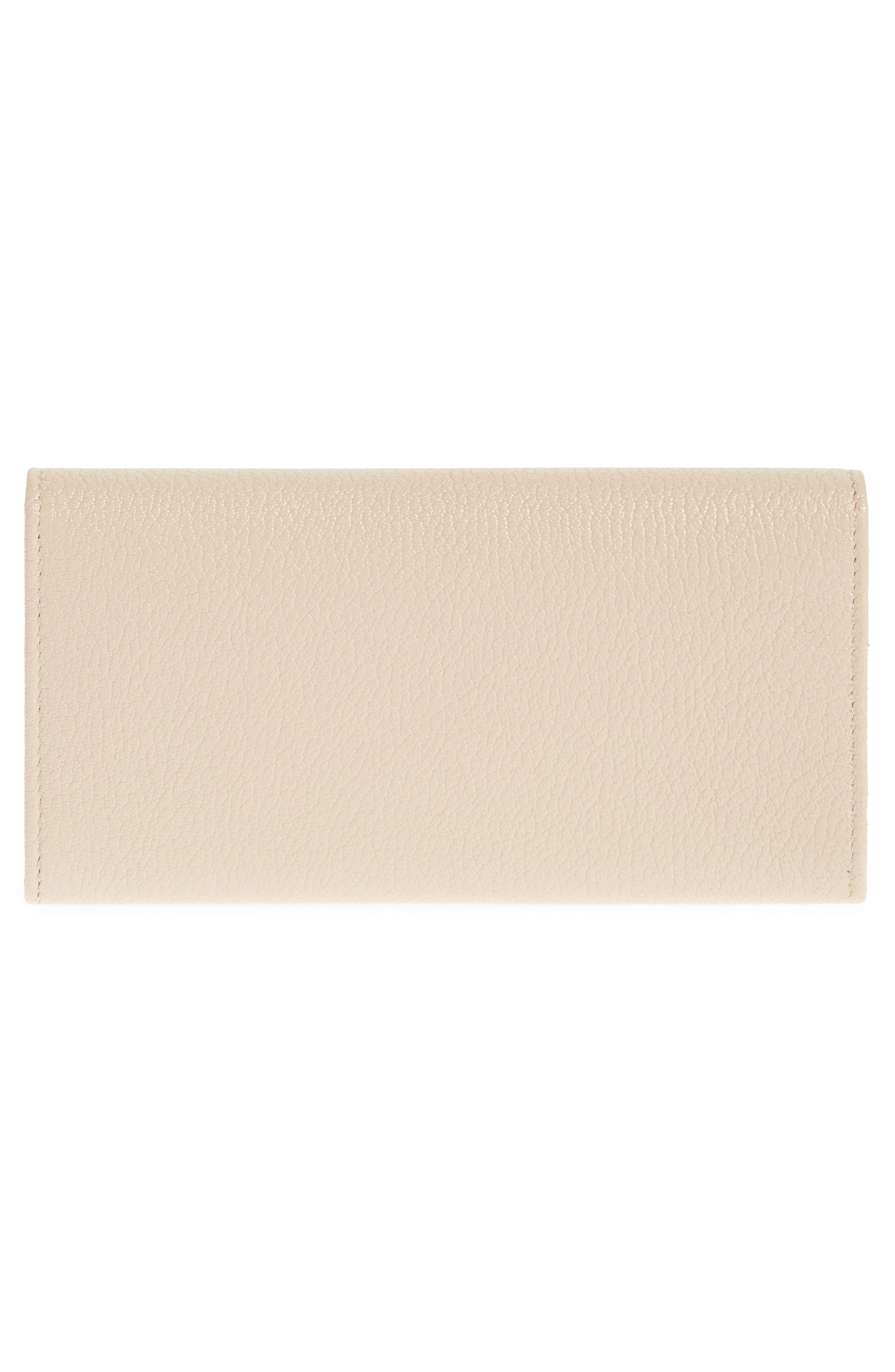 Alternate Image 4  - Balenciaga Metallic Edge Money Leather Wallet