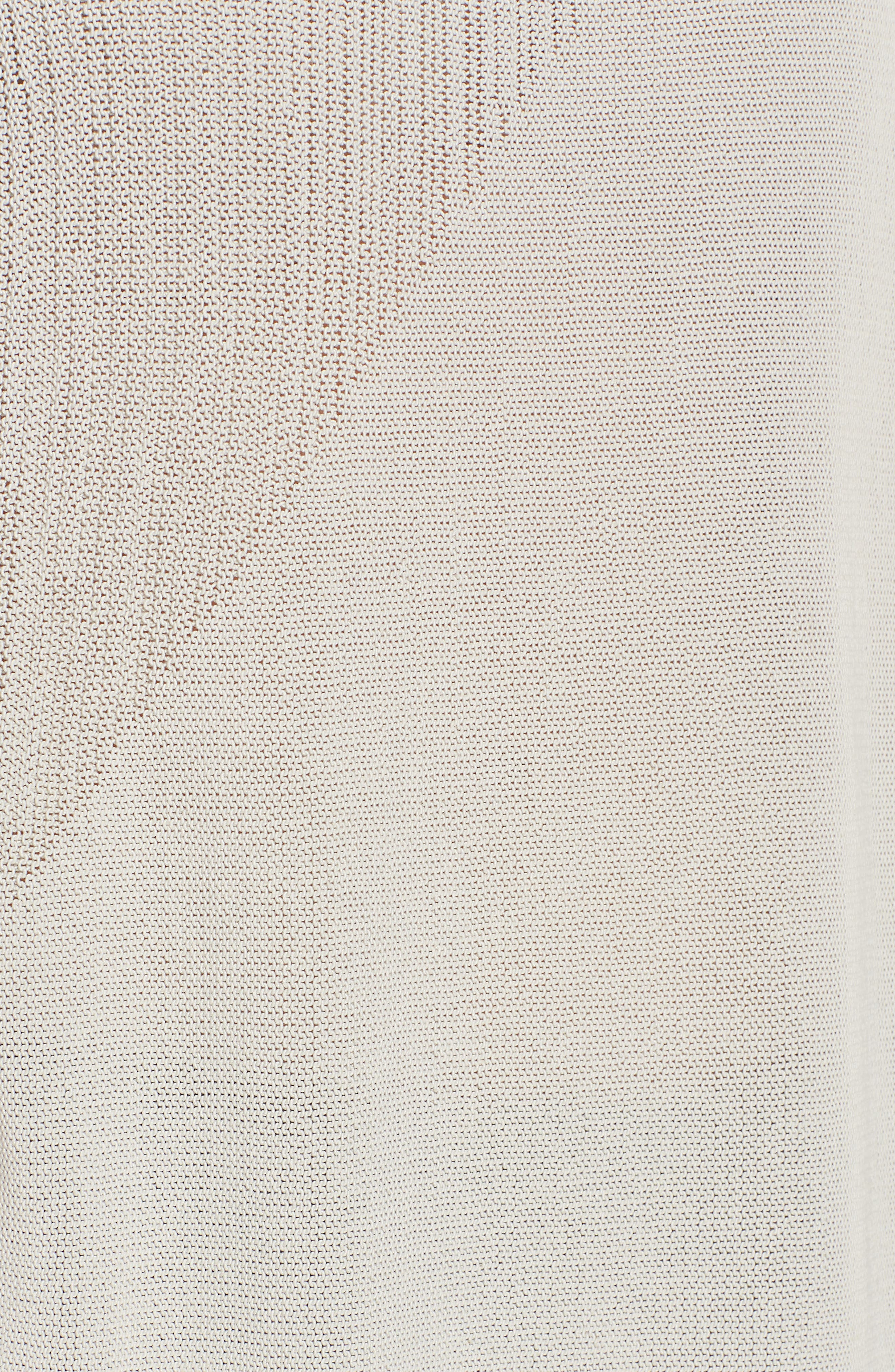 Organic Cotton Tunic Top,                             Alternate thumbnail 5, color,                             Bone