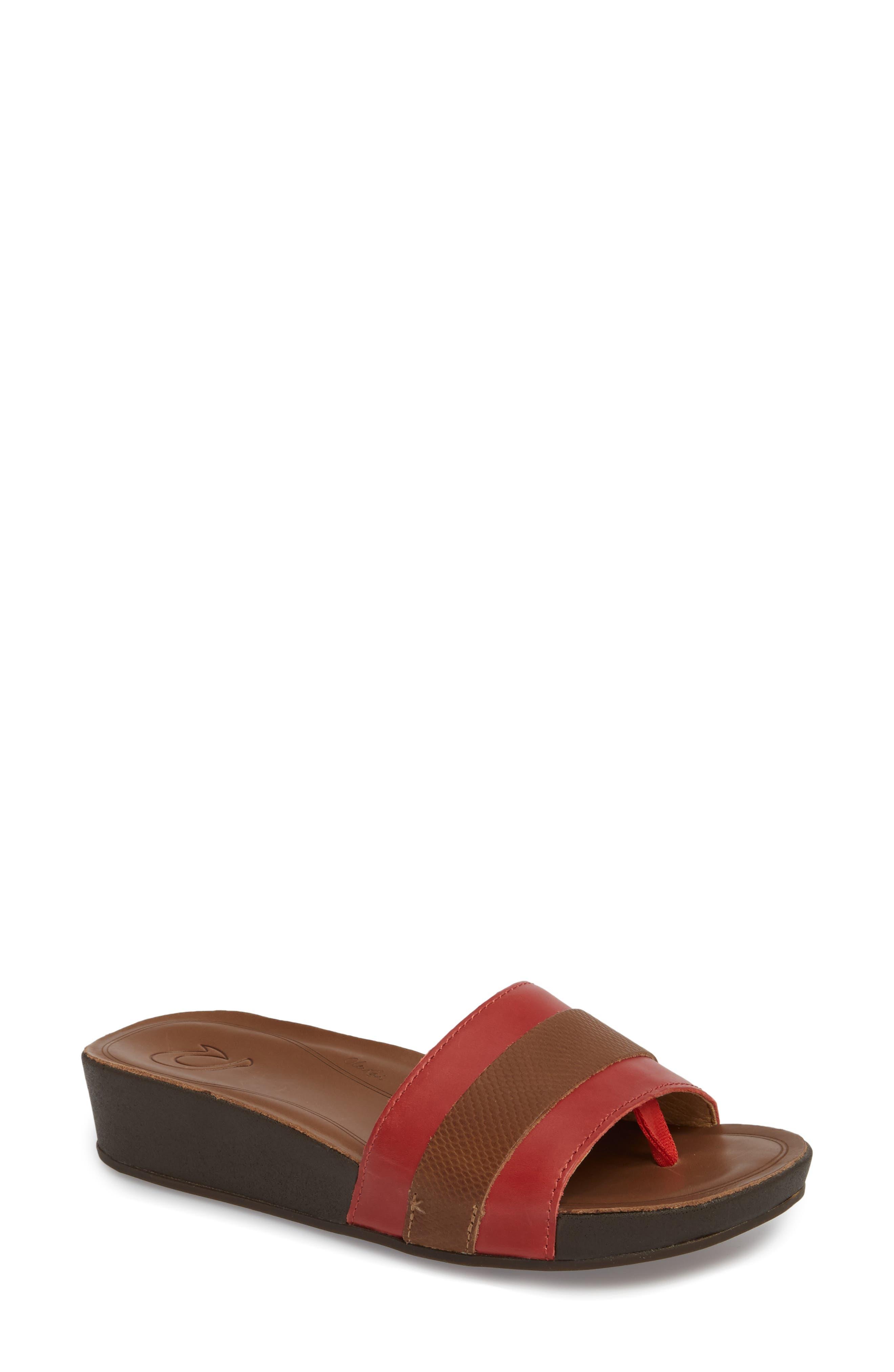 OluKai Ola Huna Wedge Sandal (Women)