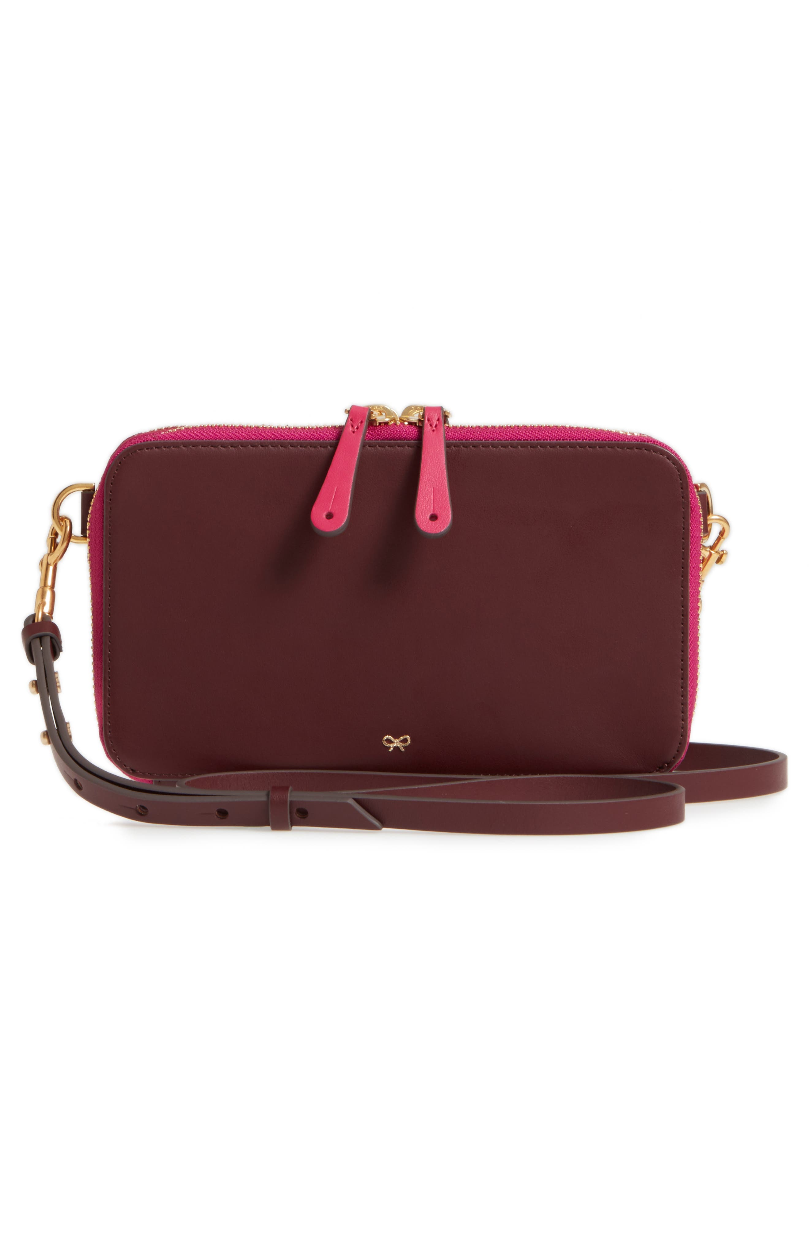 Alternate Image 4  - Anya Hindmarch Stack Leather Crossbody Wallet