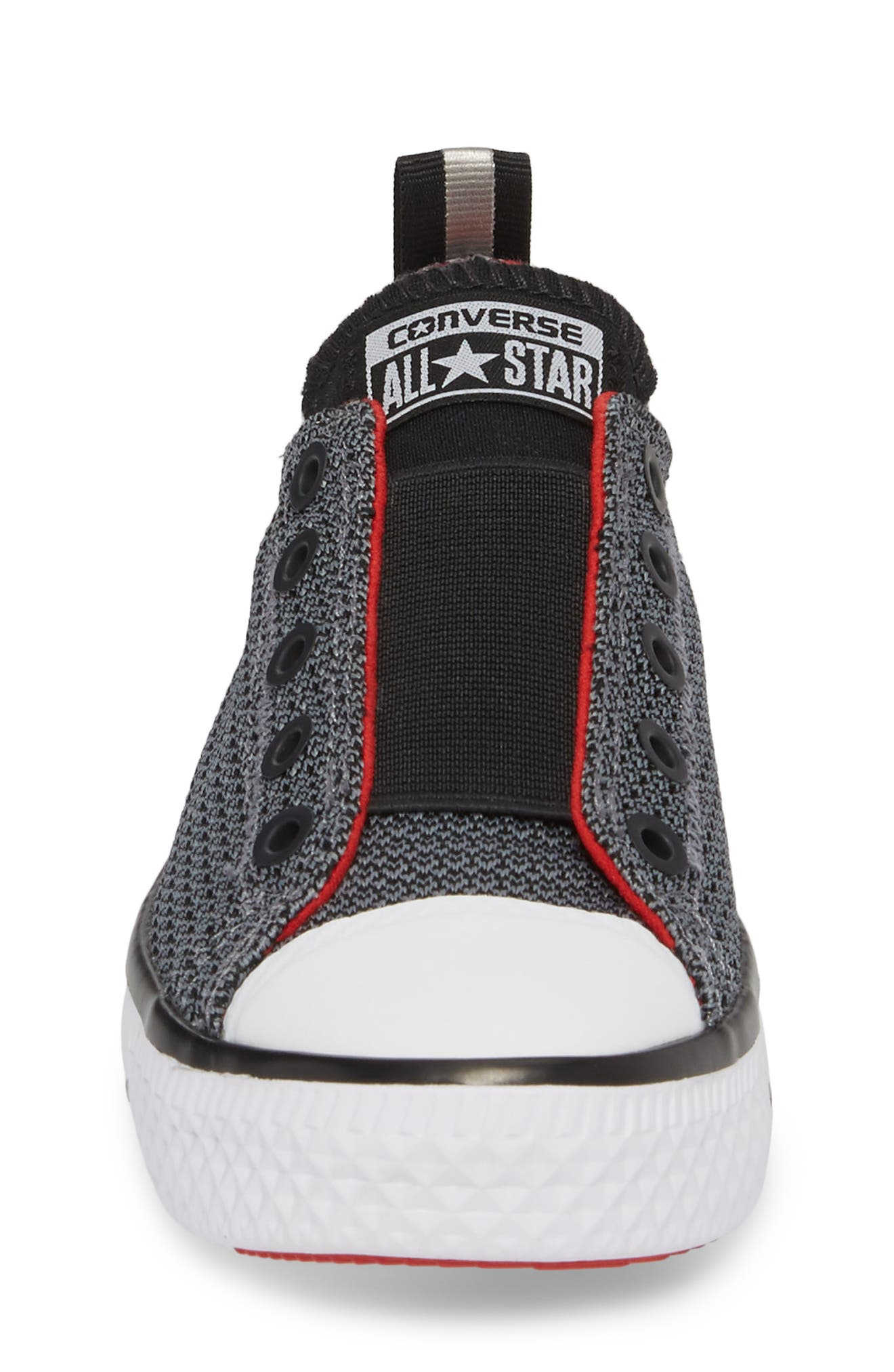 Chuck Taylor<sup>®</sup> All Star<sup>®</sup> Hyper Lite Ox Slip-On Sneaker,                             Alternate thumbnail 4, color,                             Cool Grey