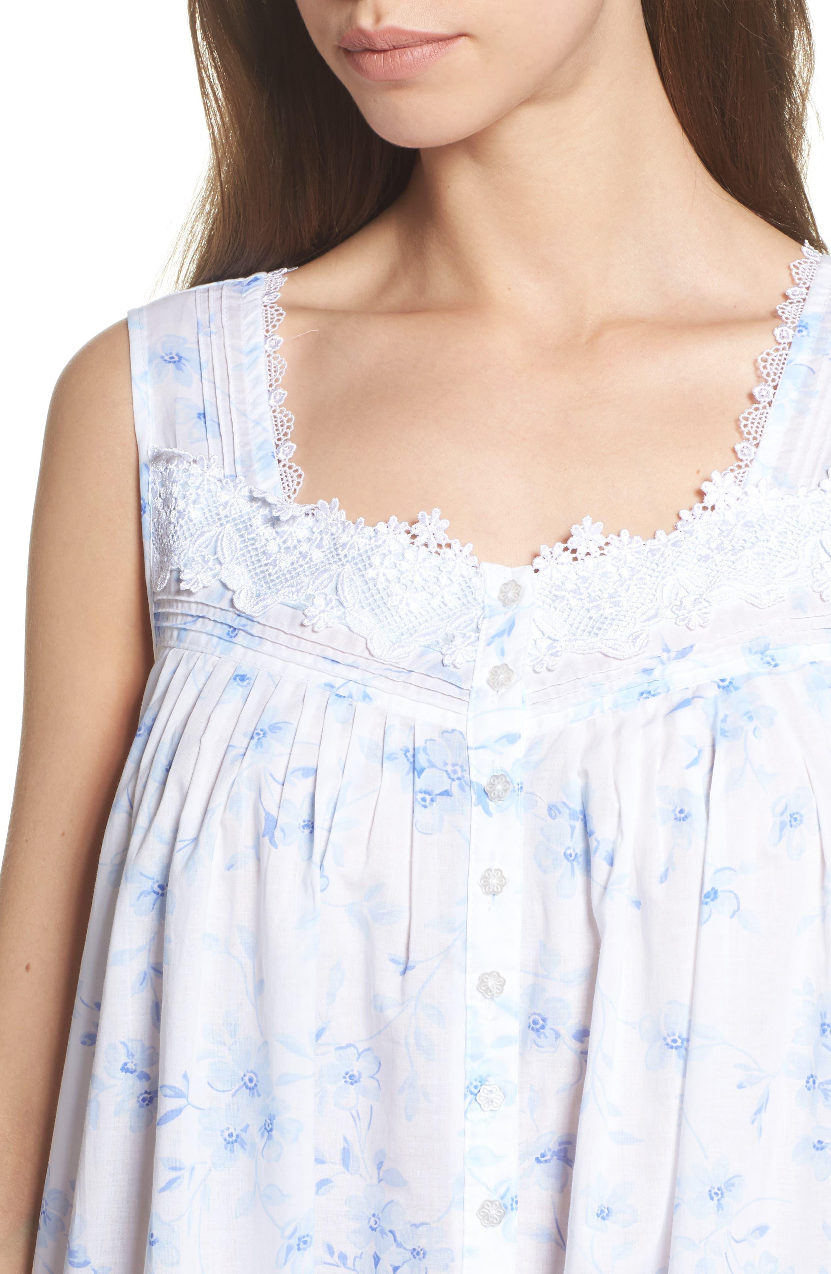 Alternate Image 5  - Eileen West Cotton Lawn Ballet Nightgown