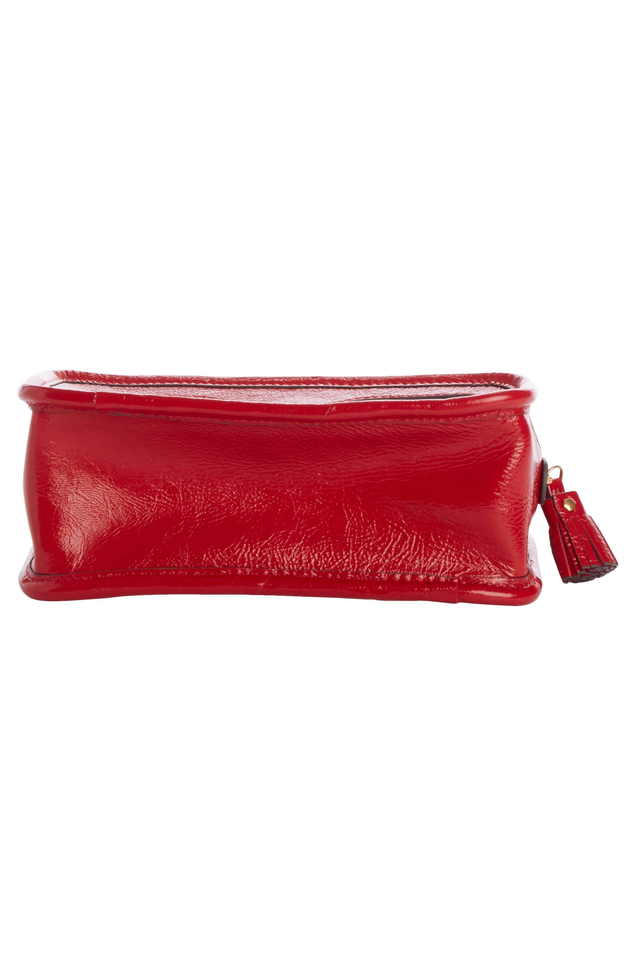 Rainy Day Cosmetic Bag,                             Alternate thumbnail 4, color,                             Red