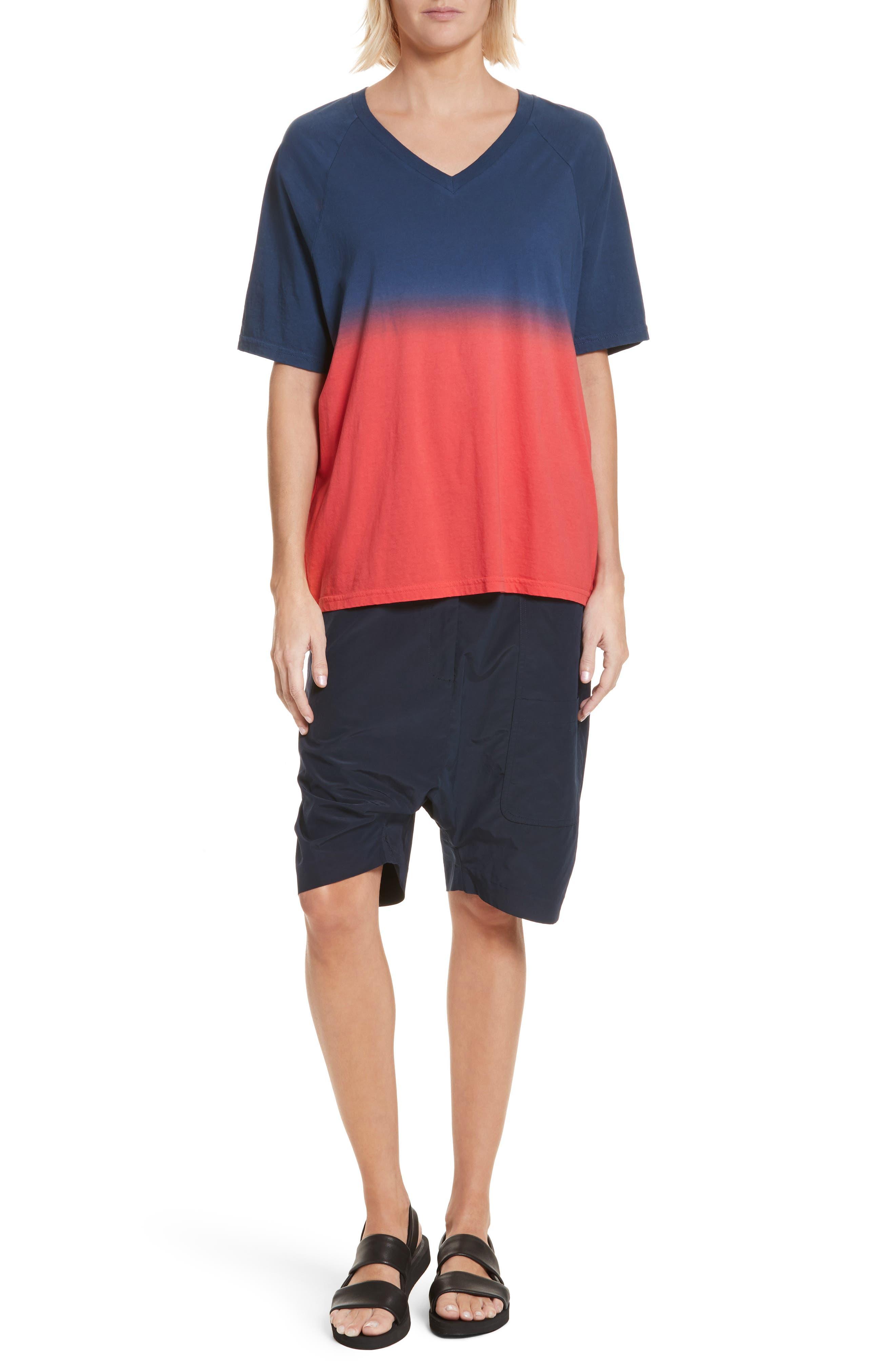 Drop Crotch Shorts,                             Alternate thumbnail 7, color,                             Navy
