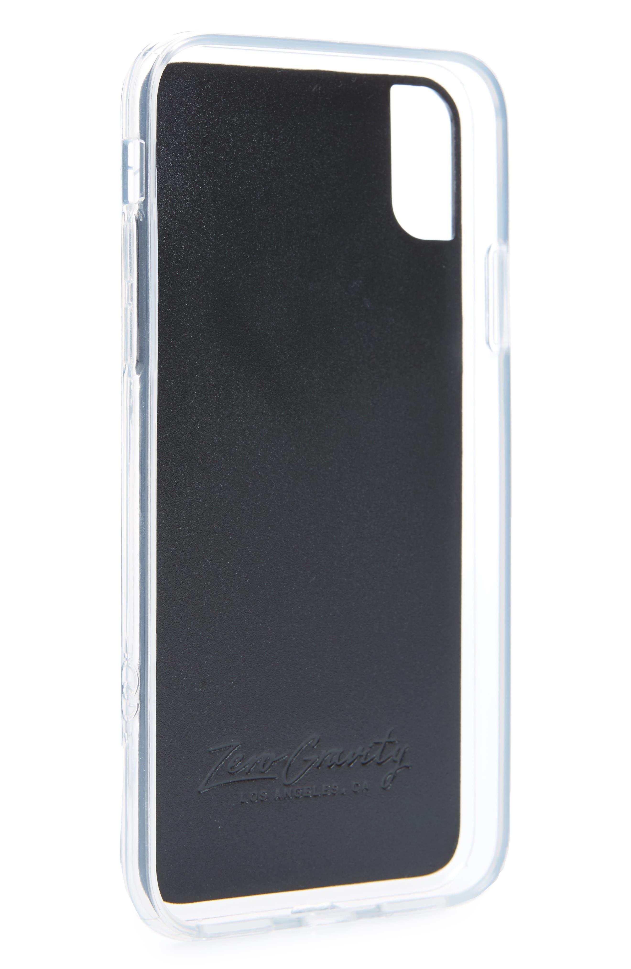 Camellia iPhone X Case,                             Alternate thumbnail 2, color,                             White Multi