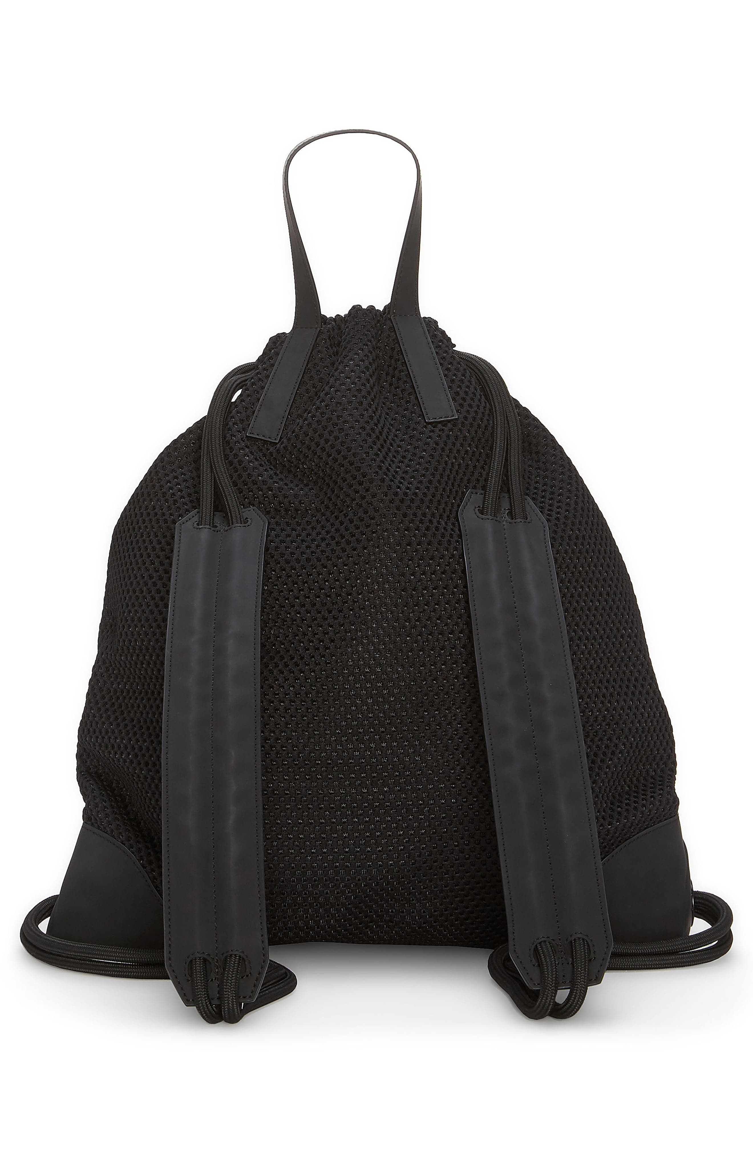 Urban Mesh Backpack,                             Alternate thumbnail 2, color,                             Black