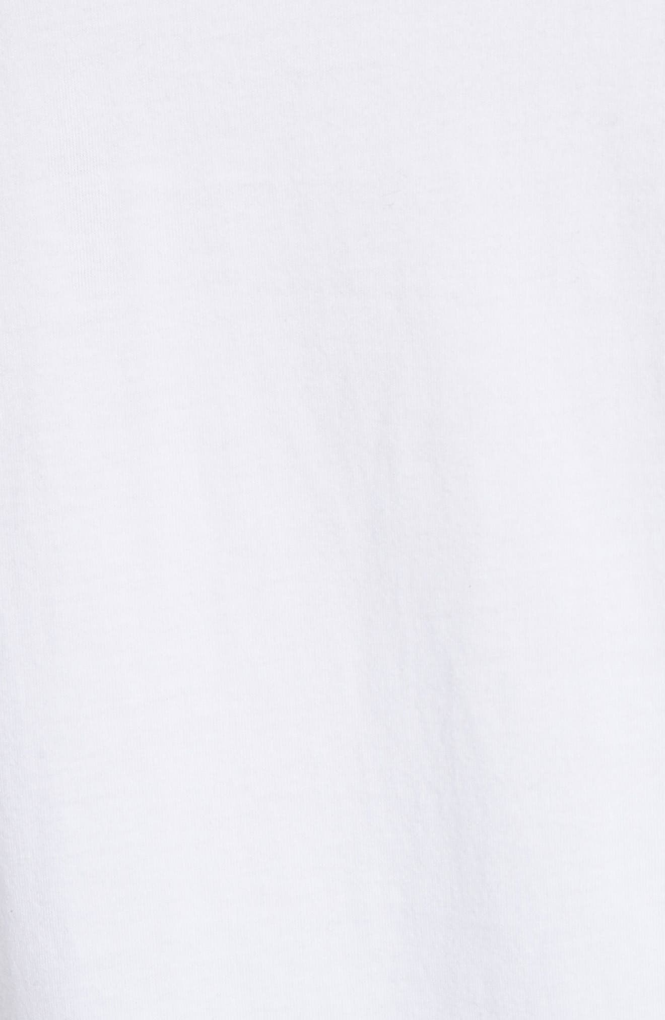 Paranoia Long Sleeve Tee,                             Alternate thumbnail 6, color,                             White