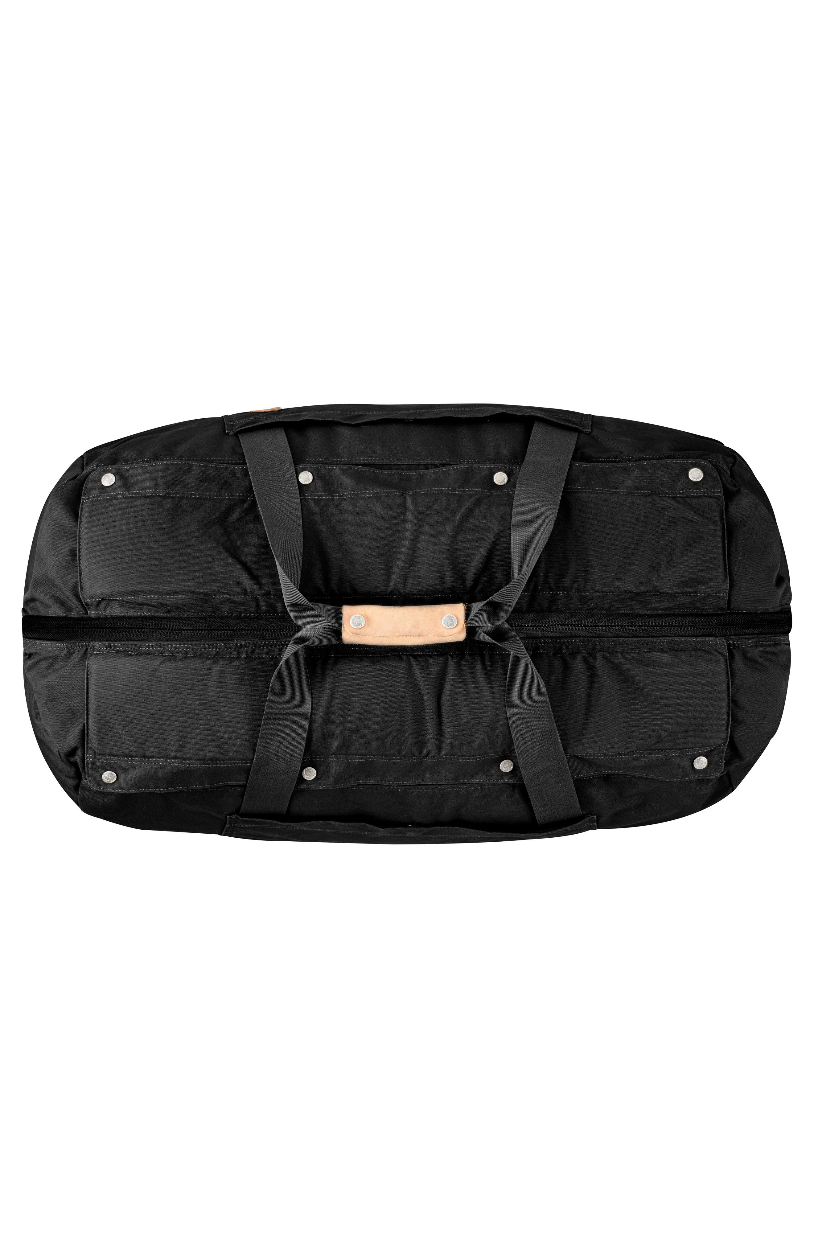 Duffel No. 6 Convertible Duffel Bag,                             Alternate thumbnail 2, color,                             Black