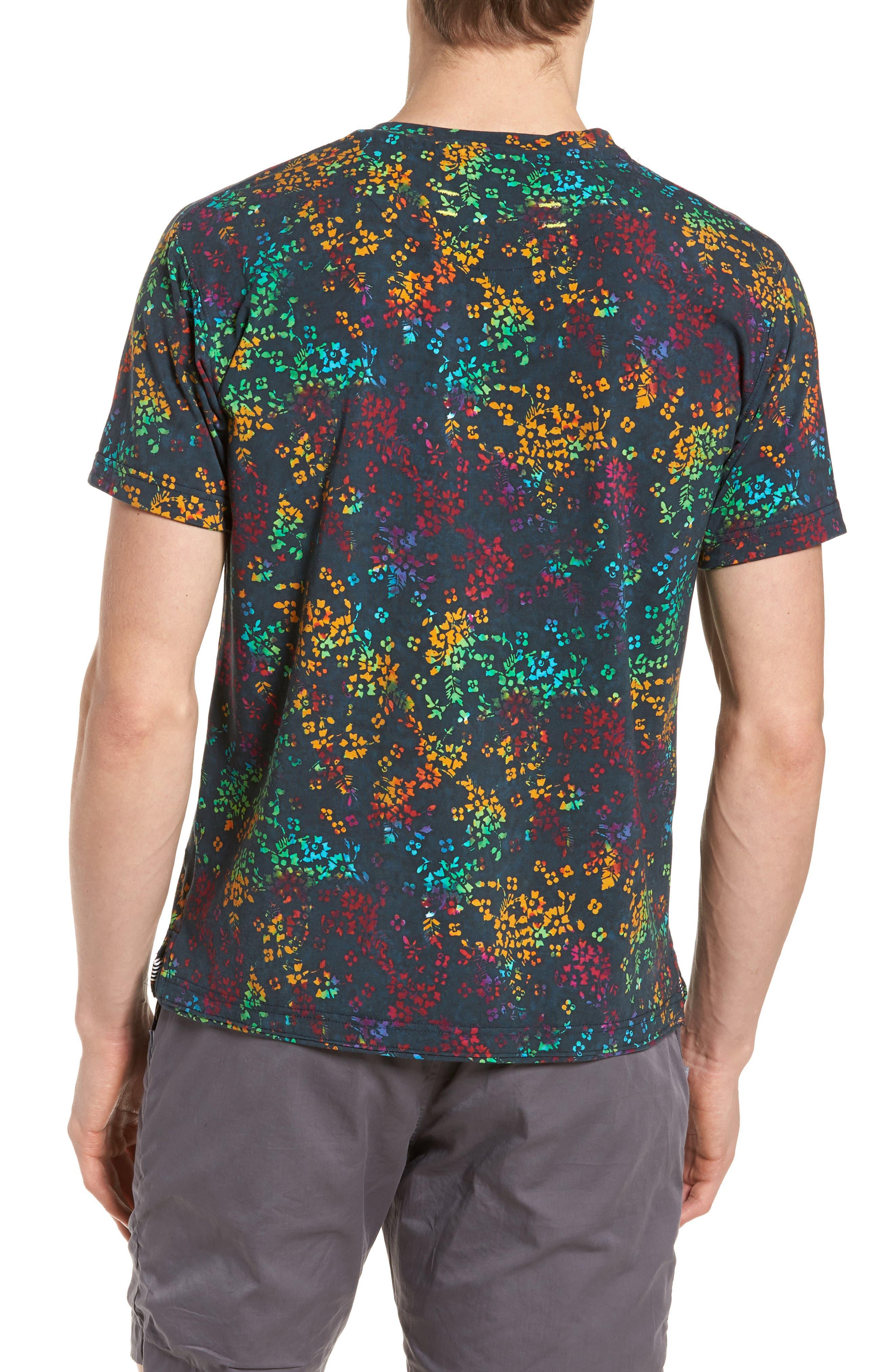 Explorer Print T-Shirt,                             Alternate thumbnail 2, color,                             Navy Multi