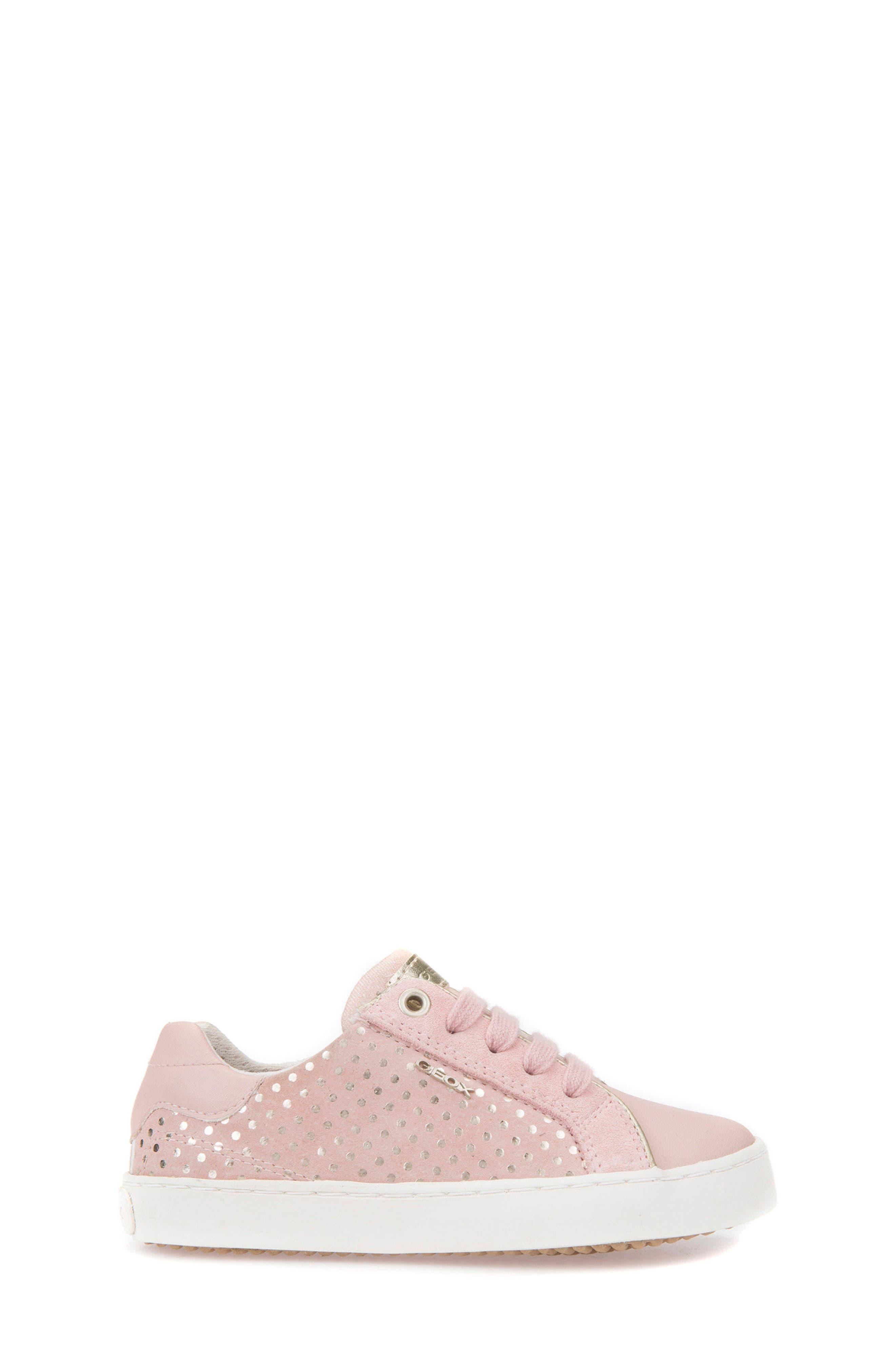 Kilwi Low Top Sneaker,                             Alternate thumbnail 3, color,                             Rose