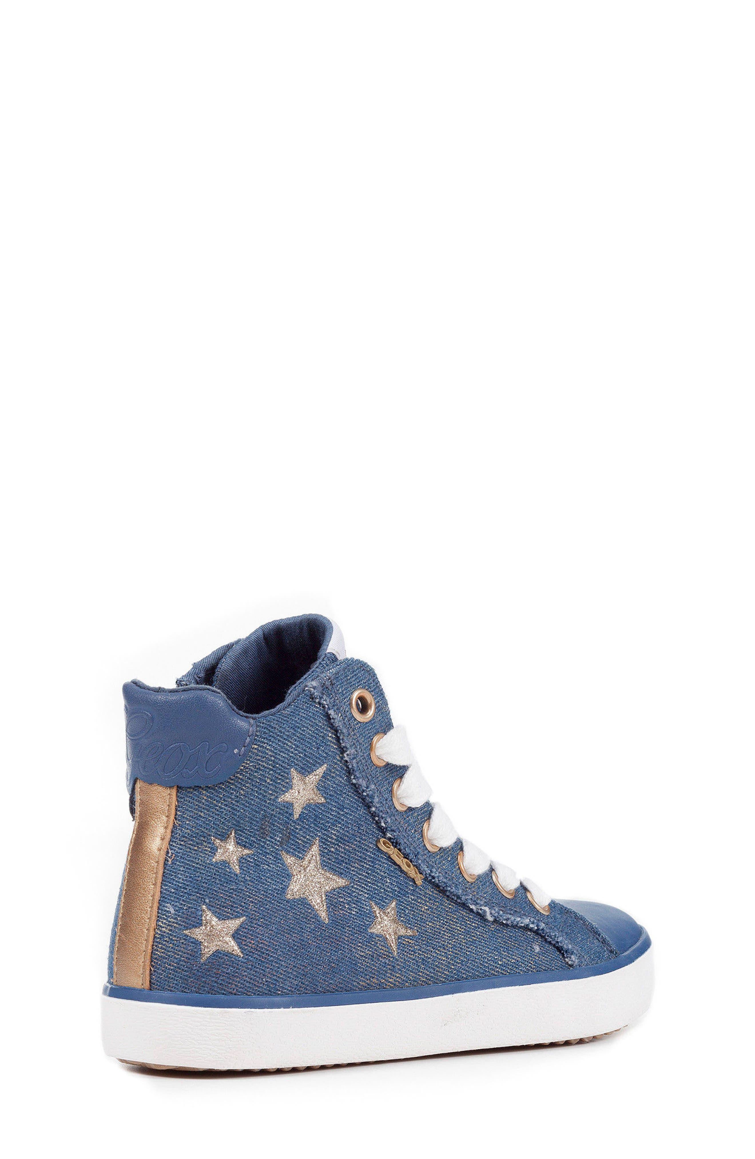 Kilwi High Top Zip Sneaker,                             Alternate thumbnail 2, color,                             Avio