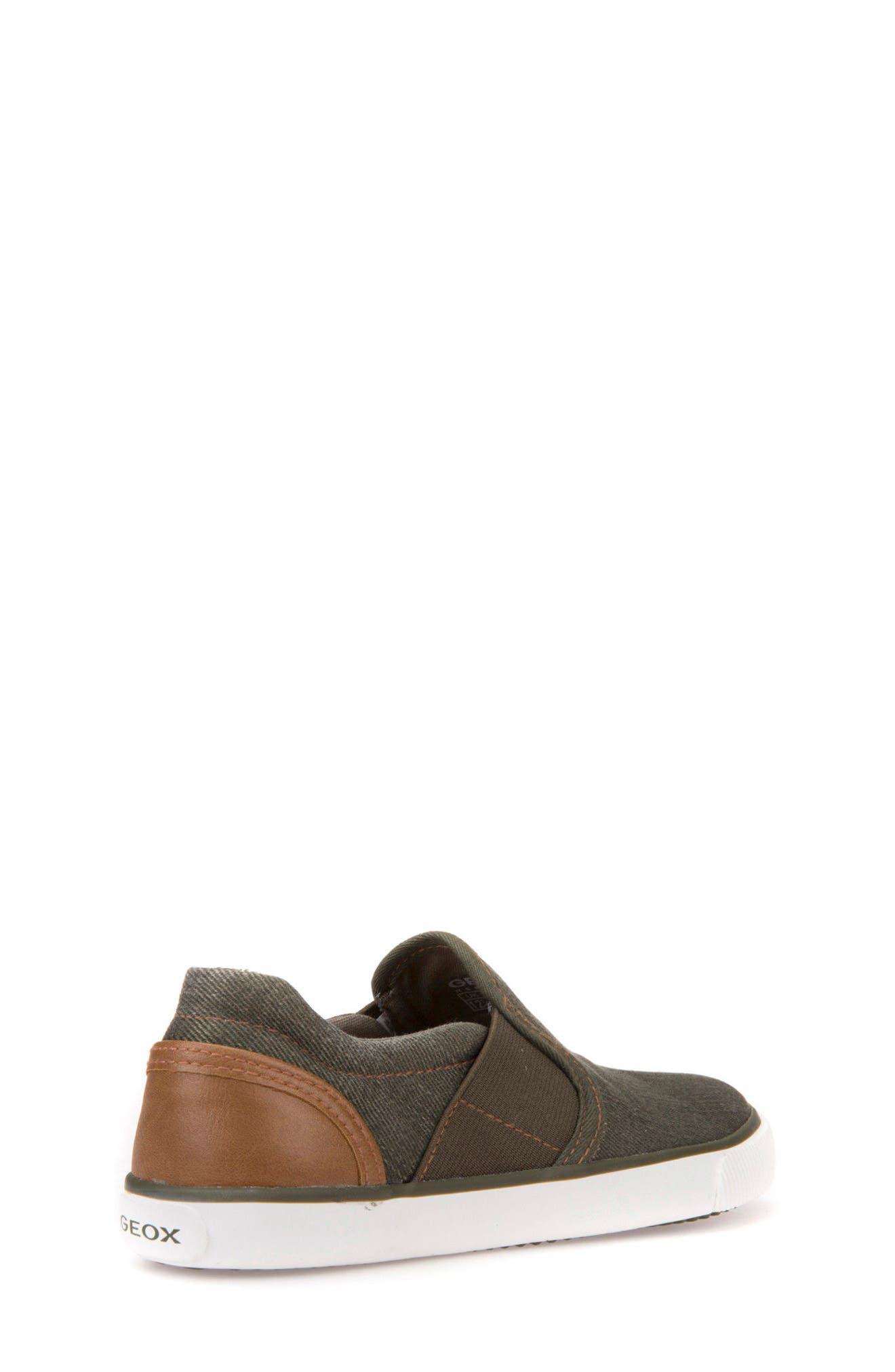 Kilwi Slip-On Sneaker,                             Alternate thumbnail 2, color,                             Military/ Light Brown