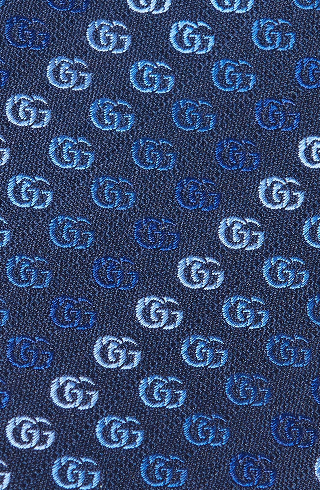 Alternate Image 2  - Gucci Soft Running GG Silk Tie
