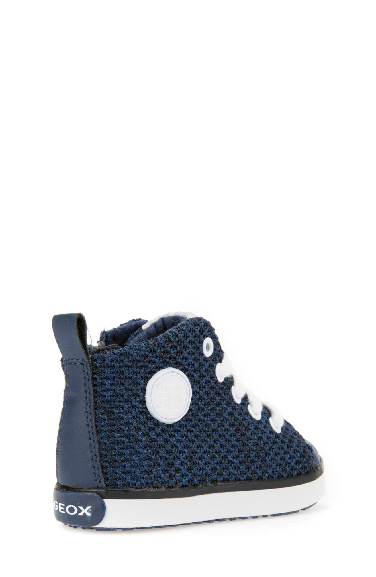 Kilwi Knit High Top Sneaker,                             Alternate thumbnail 2, color,                             Navy